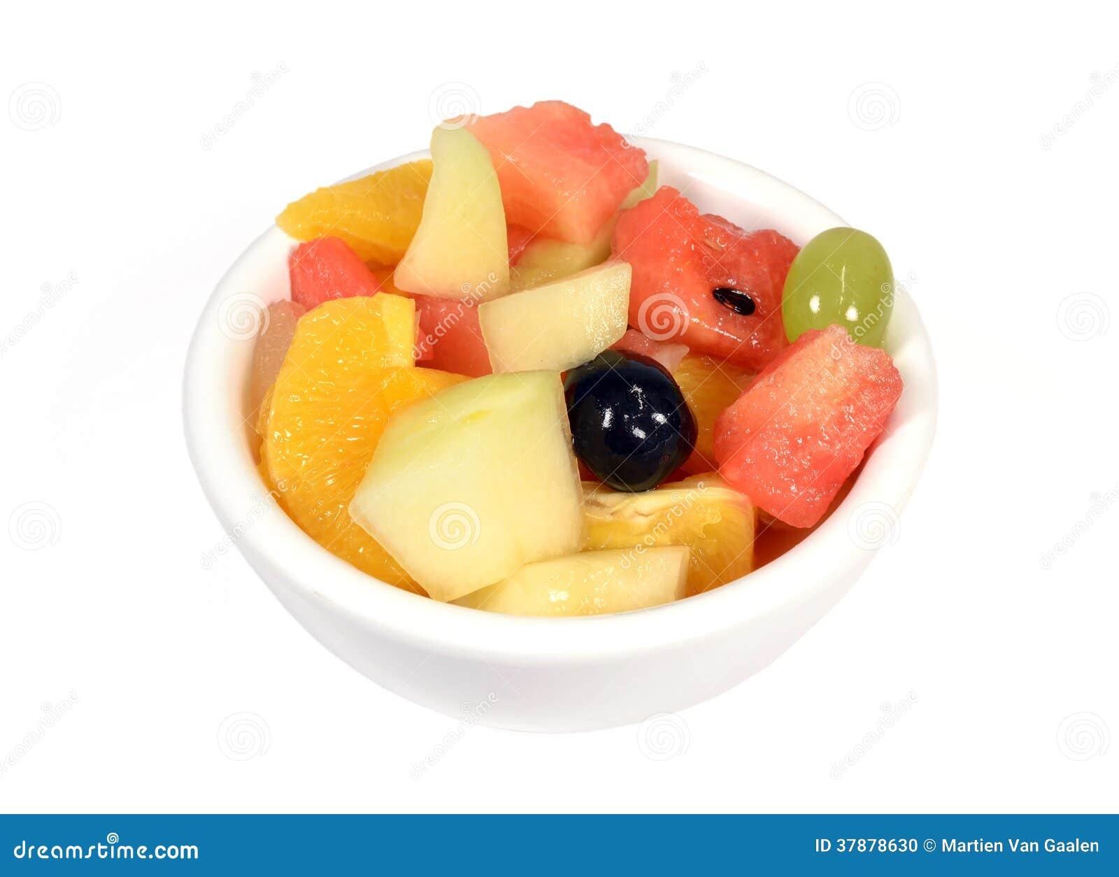Fruitsalade.