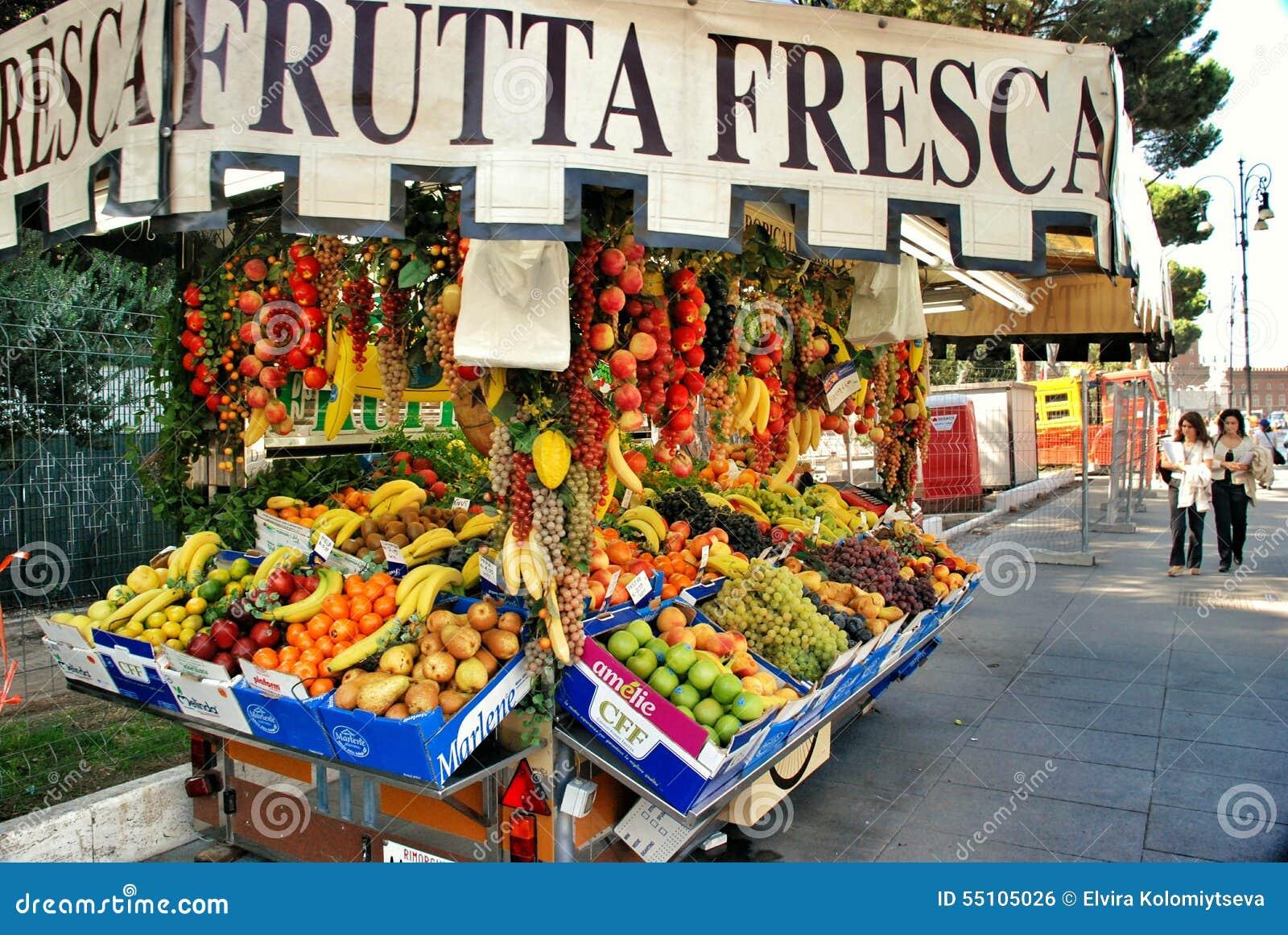 Fruittribune in Rome