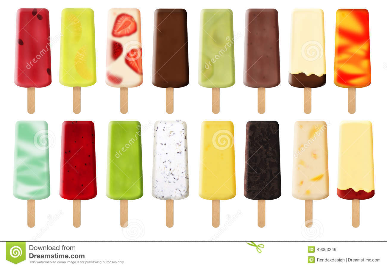 Images Of Ice Cream Bars Fruity Deliciou...
