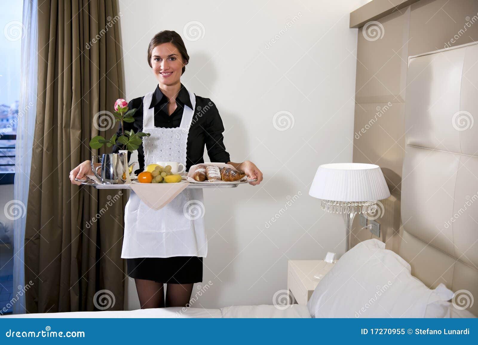 Frukostera det bärande maidmagasinet