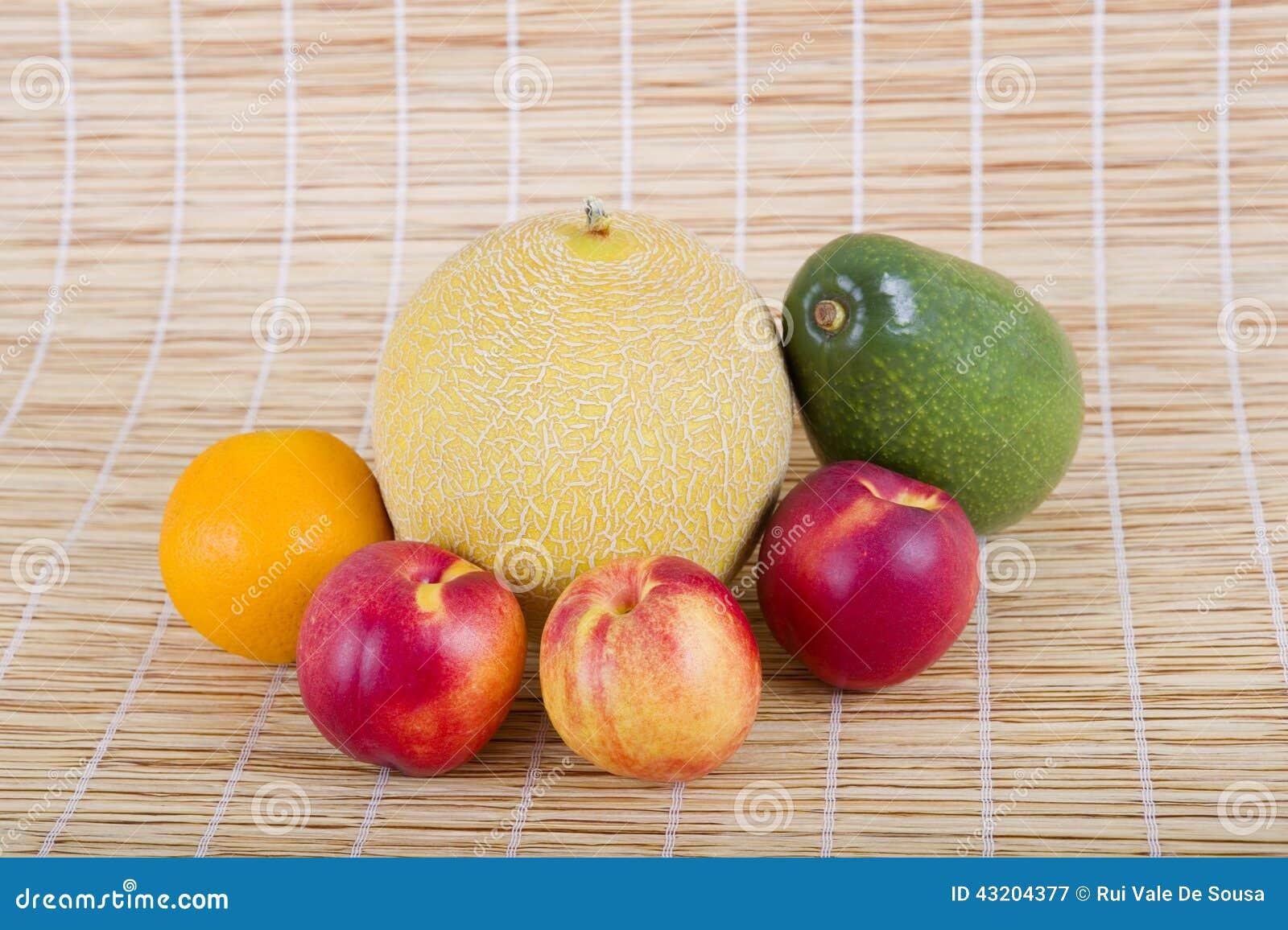 Download Frukter fotografering för bildbyråer. Bild av natur, sunt - 43204377
