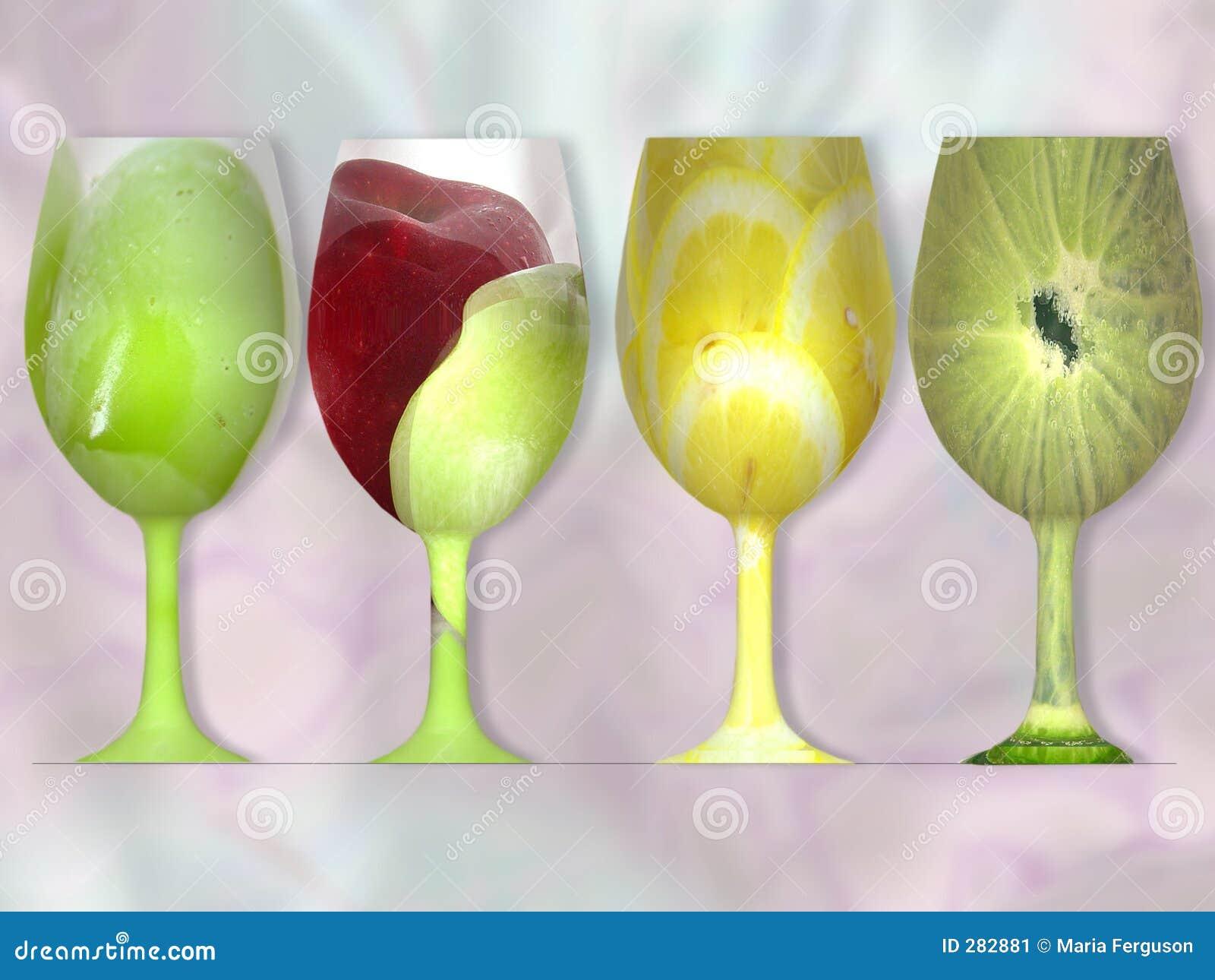Fruktexponeringsglas