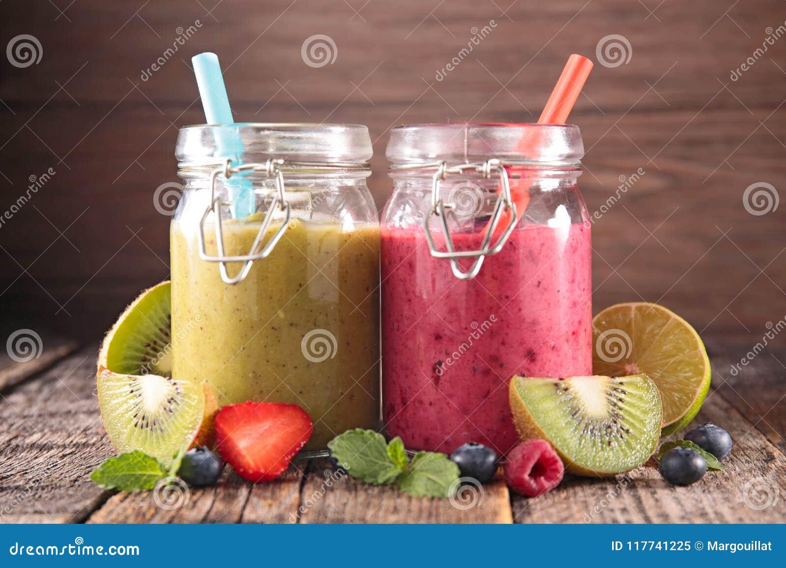 Fruktfruktsaft, smoothie
