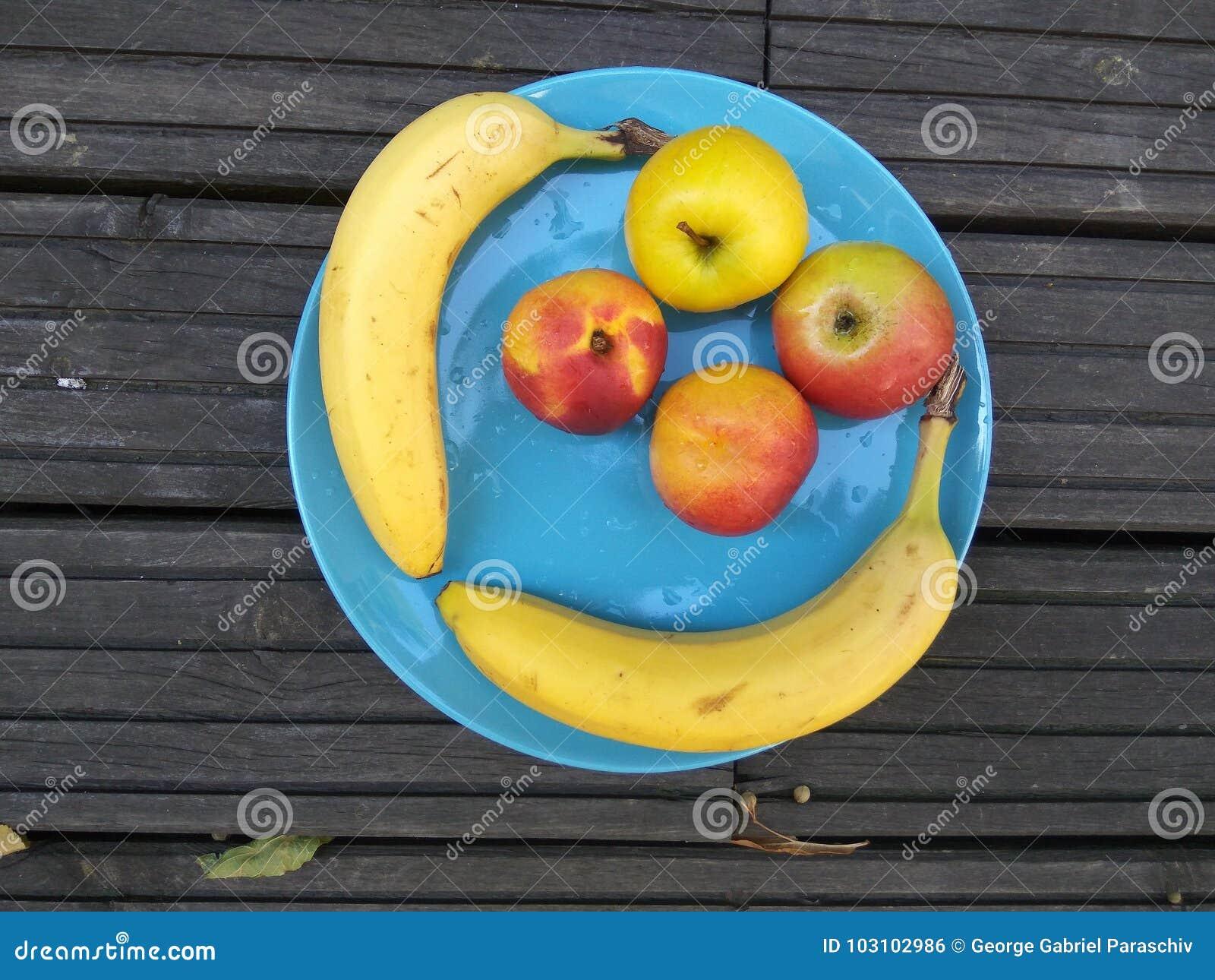 Fruktplatta - sund frukost 2