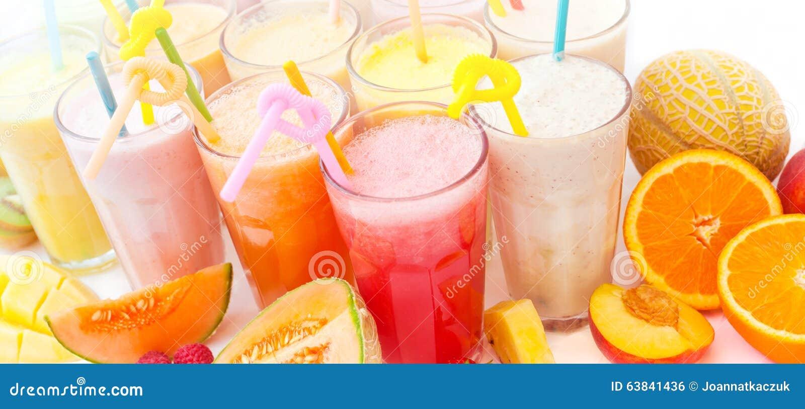 Fruktsmoothiesamling
