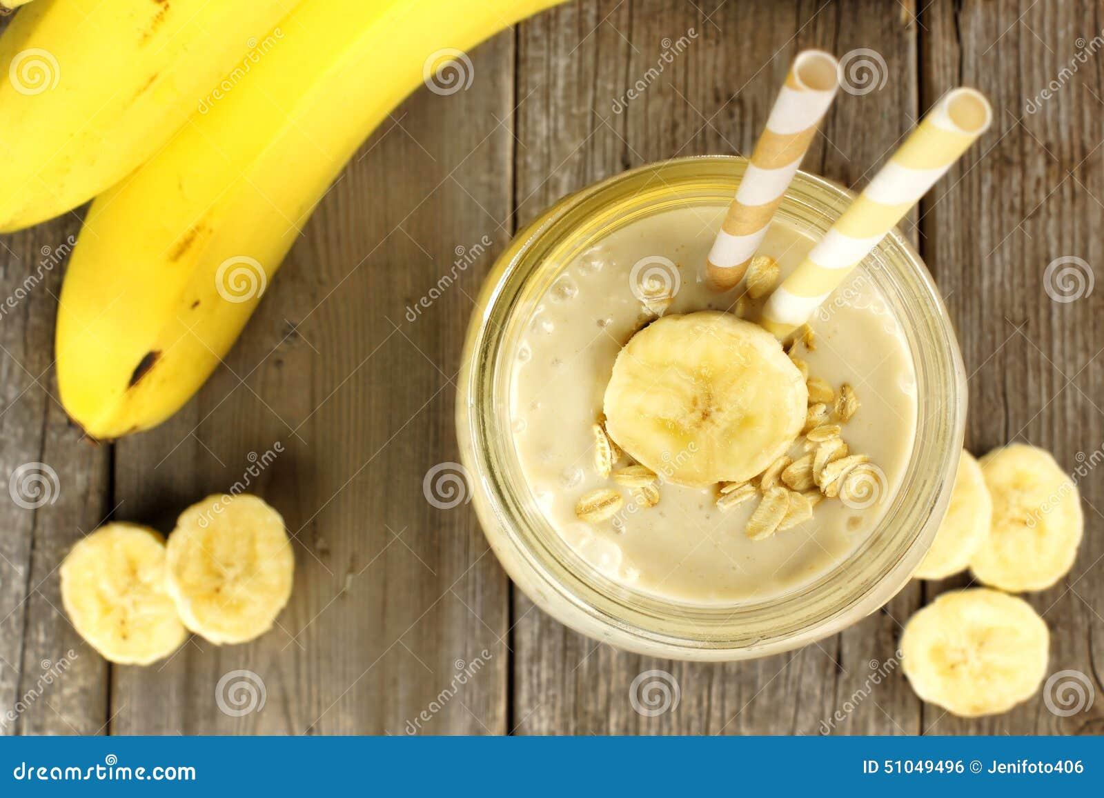 frullato di colazione di banana perdita di peso