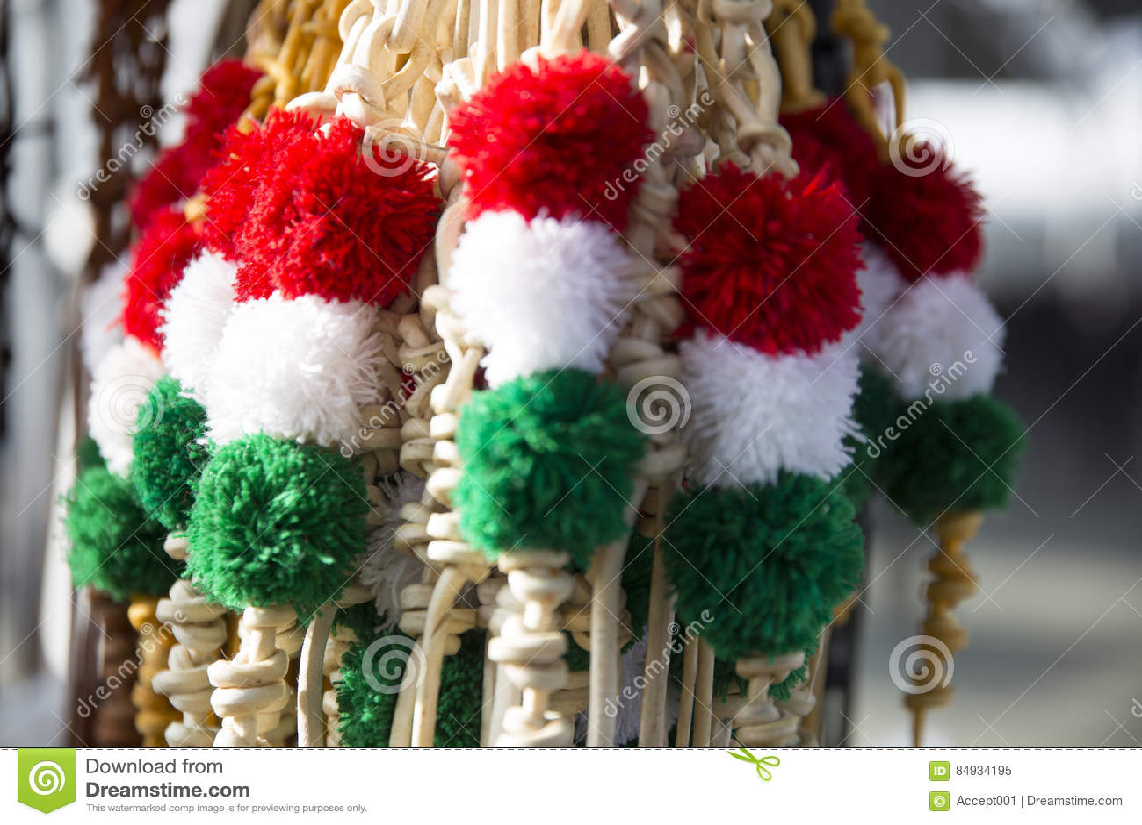 Fruste tricolori tradizionali del cuoio per gli sheperds ungheresi e uff