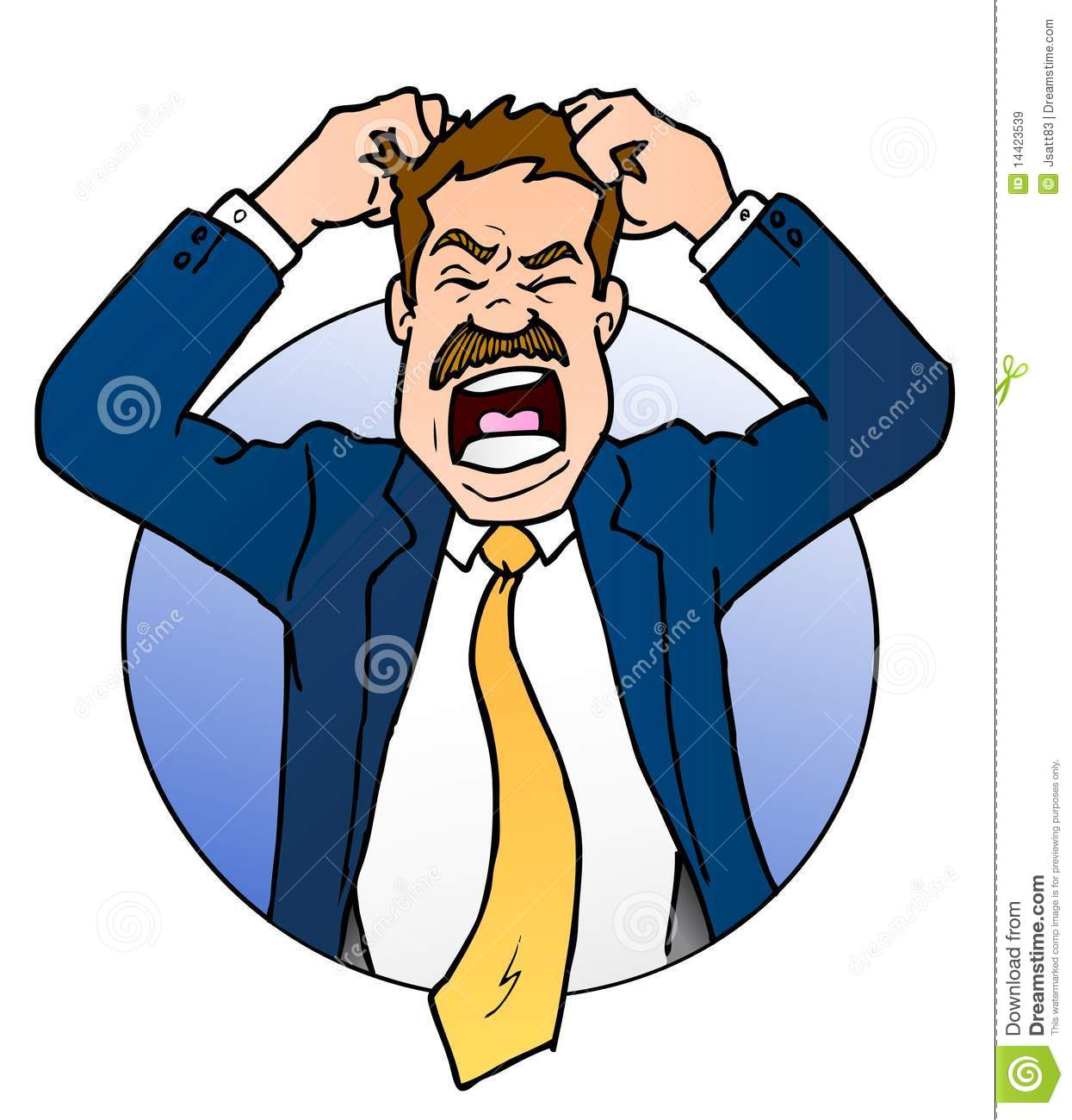 clipart frustrated man - photo #10