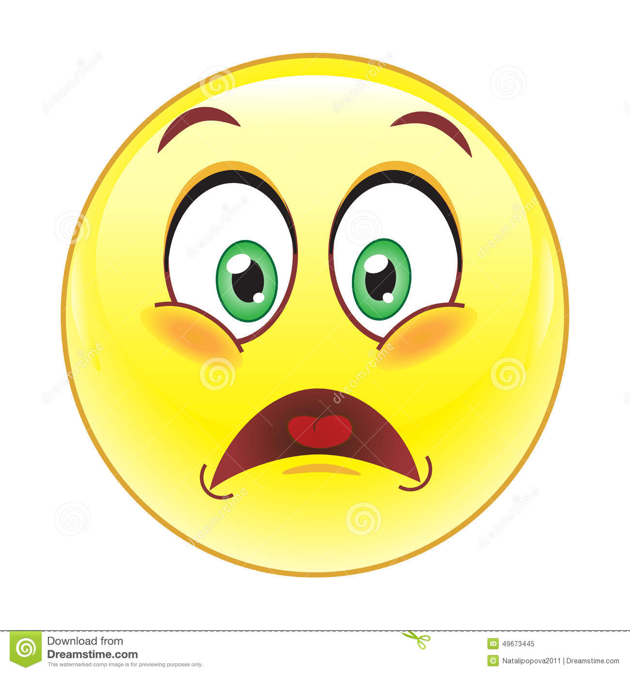 Frustrated Smiley Stock Vector - Image: 49673445