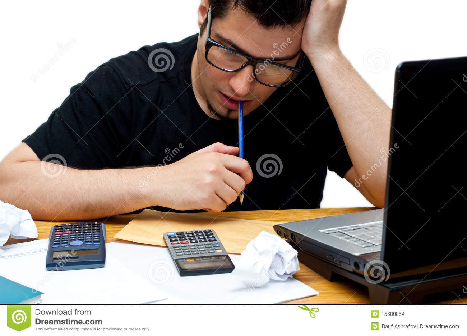 Frustrerat nerdy för revisor