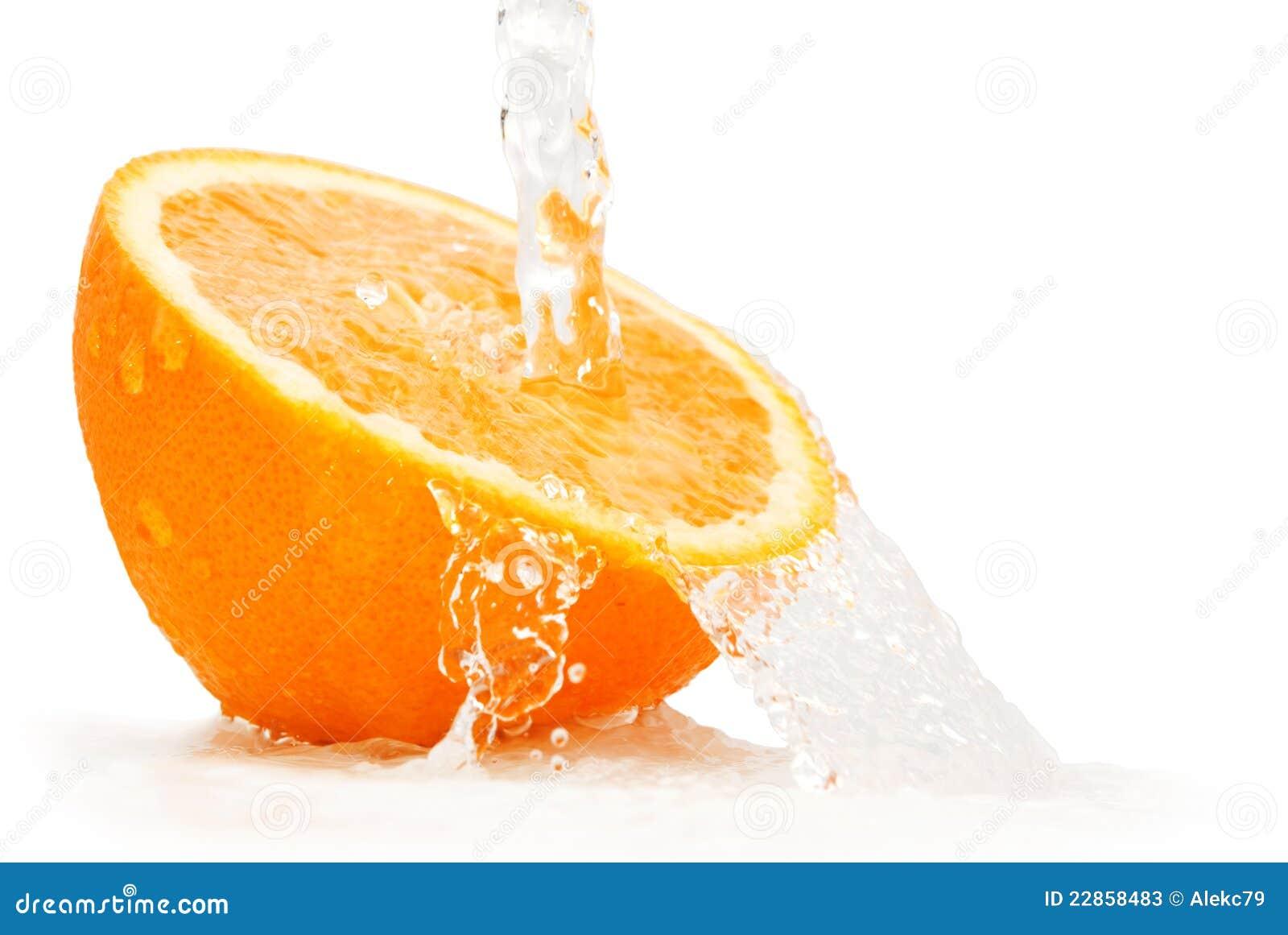 Fruta cítrica fresca