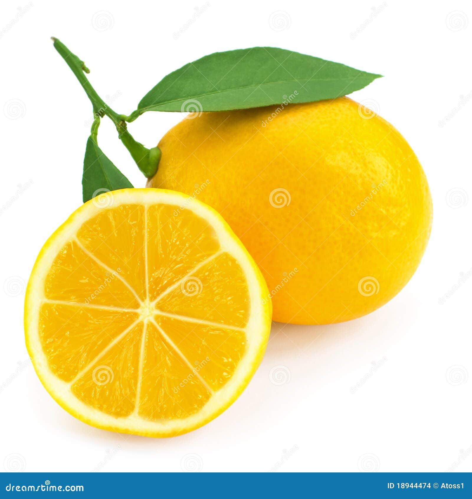 Fruta cítrica fresca del limón