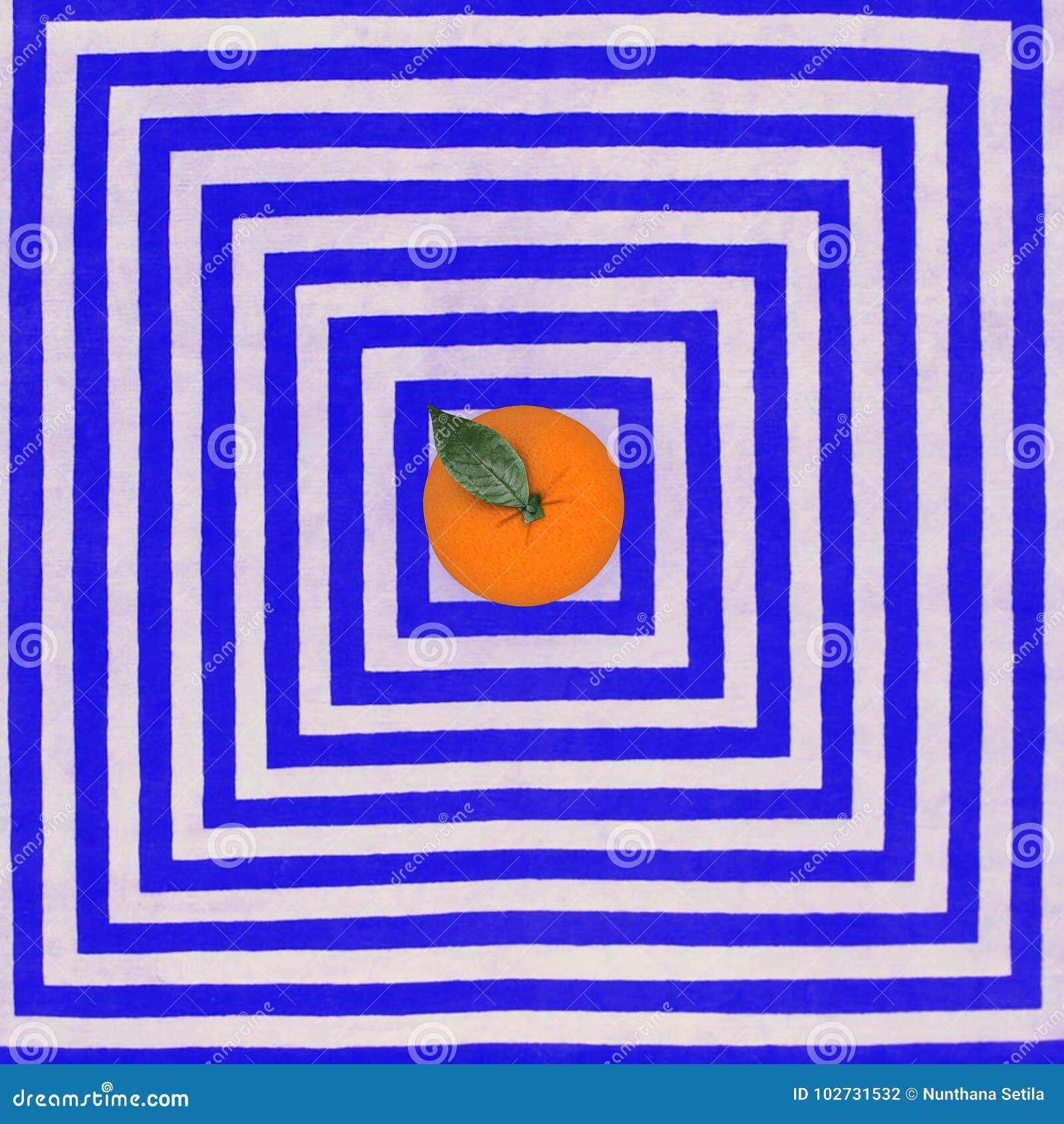 7579ce73f46b Fruta Creativa Del Concepto: Naranja Excepcional En El Modelo Del ...