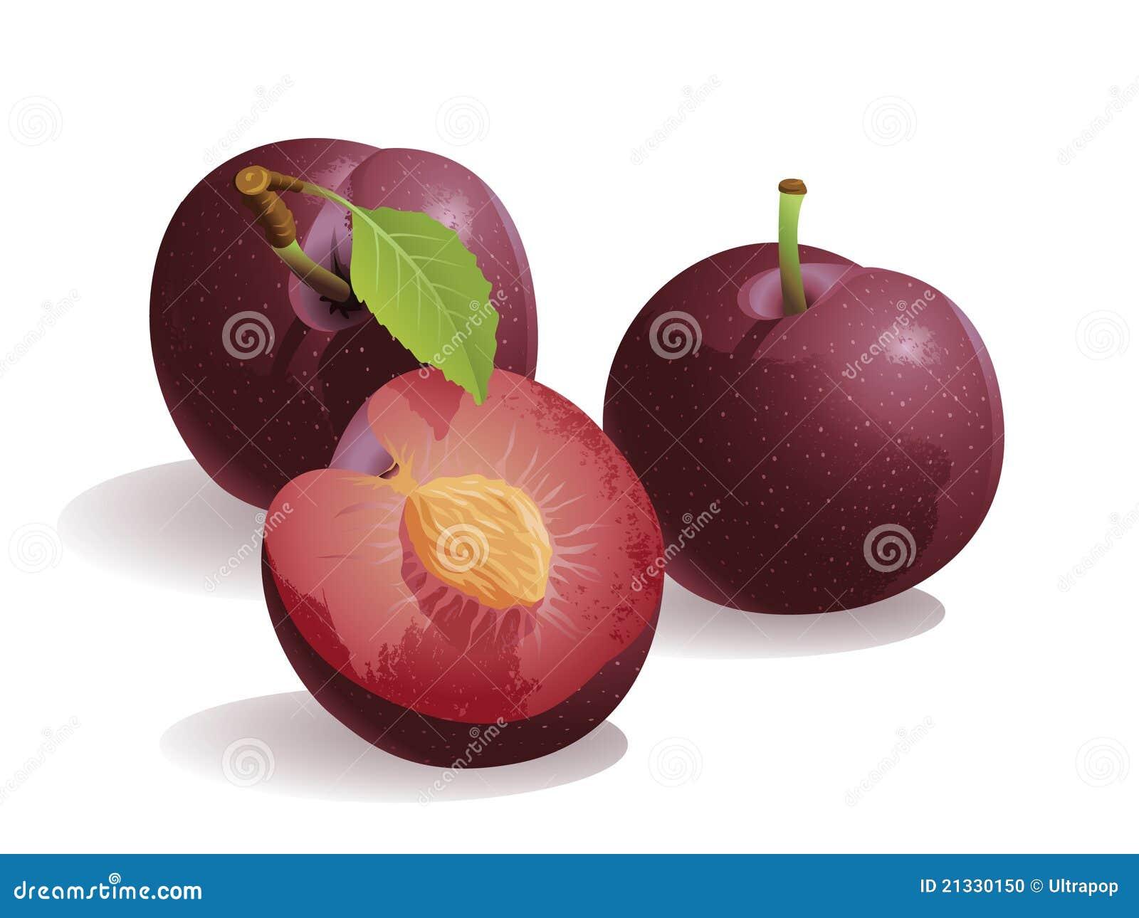 Fruta da ameixa