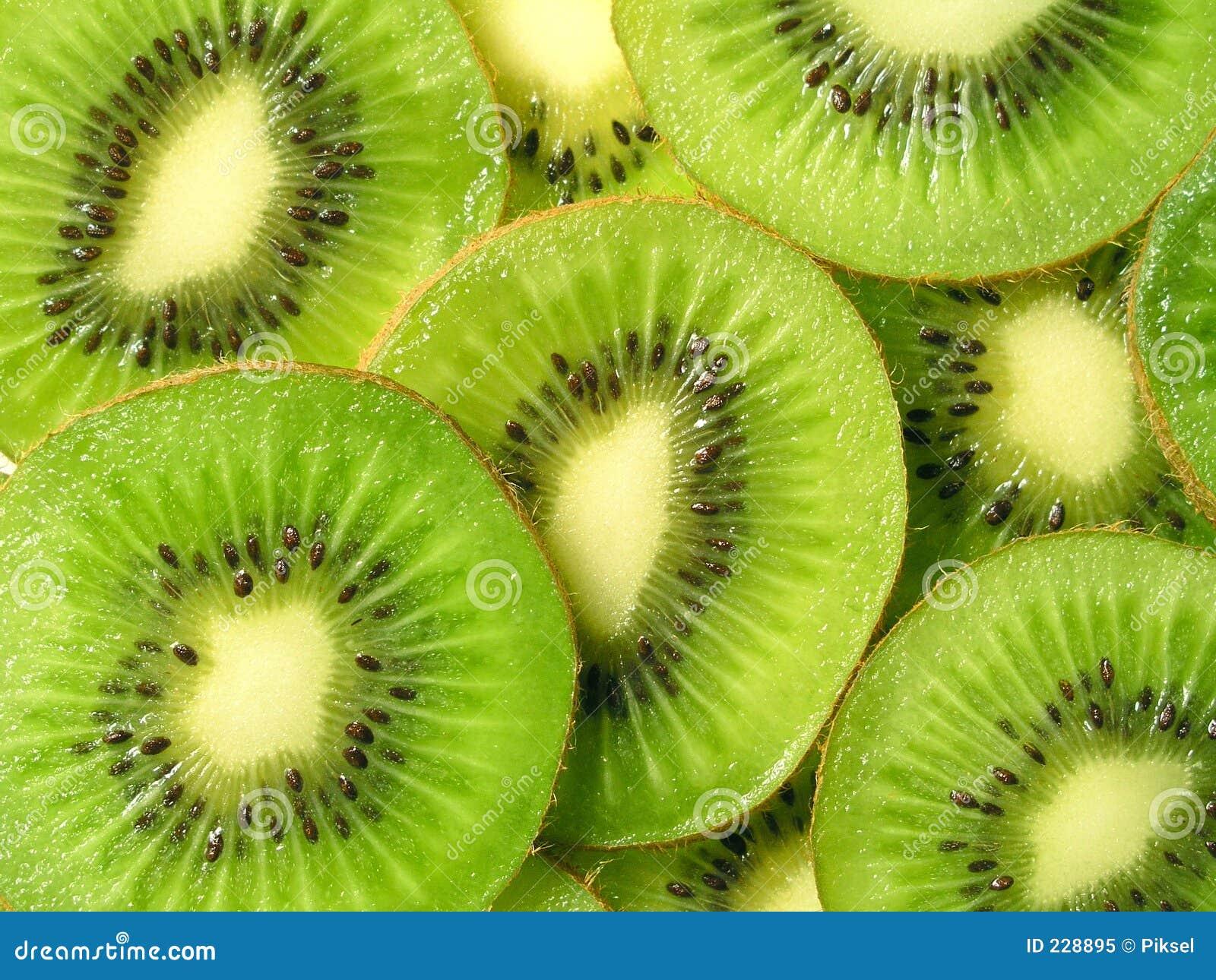 Fruta de kiwi