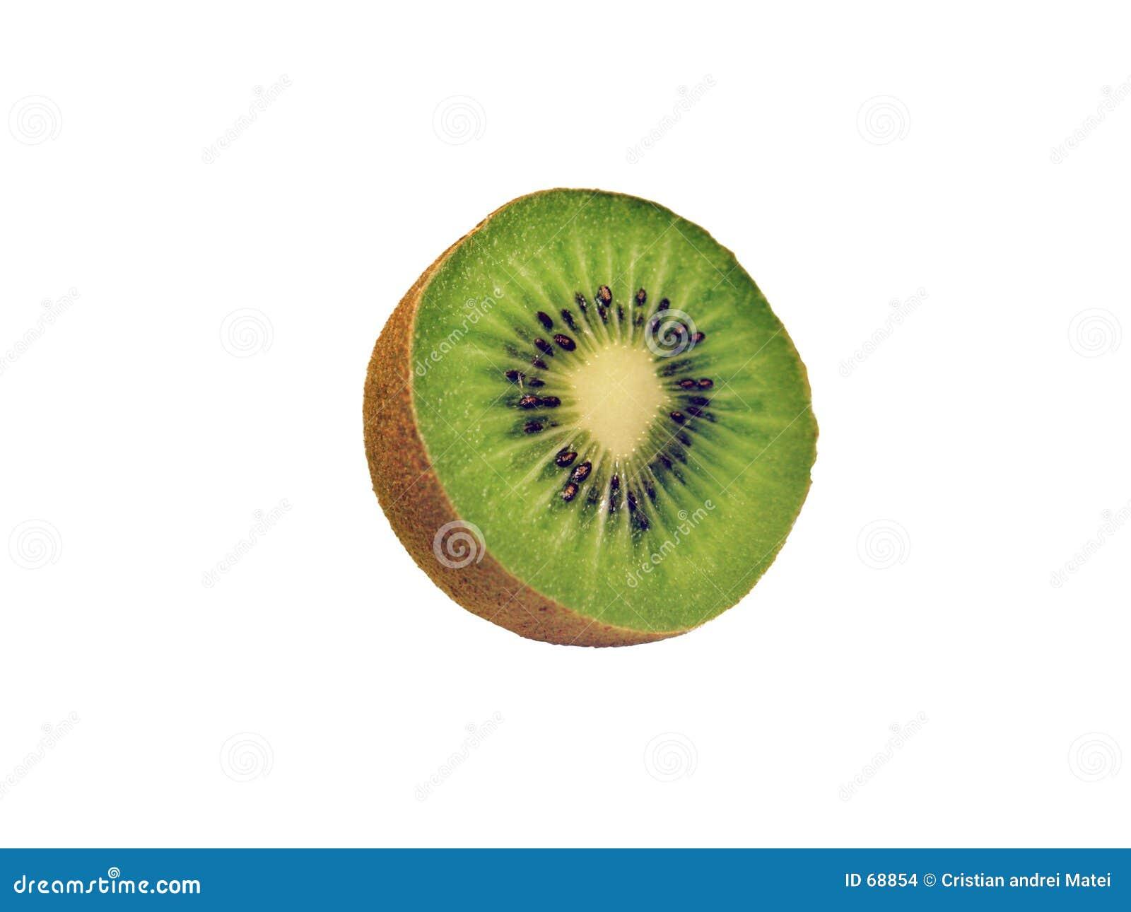 Fruta de quivi isolada
