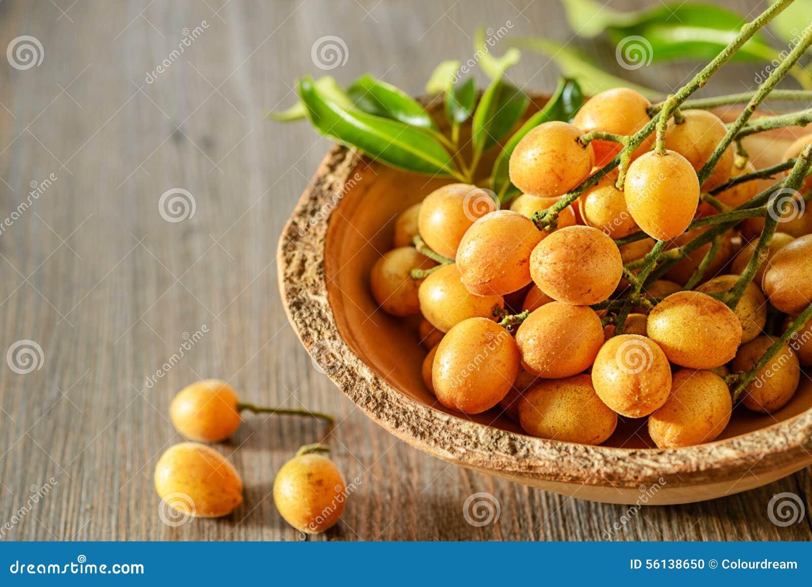 Fruta de Wampee