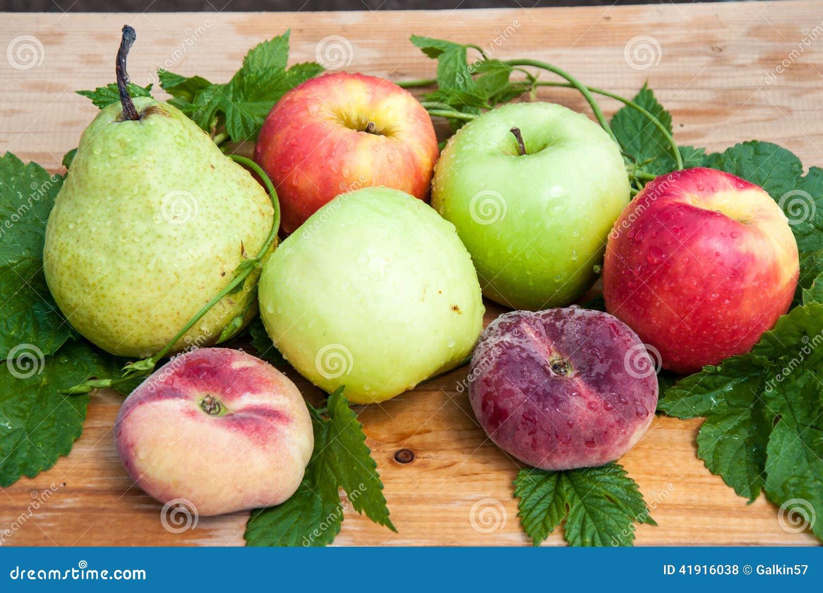 Fruta del árbol frutal