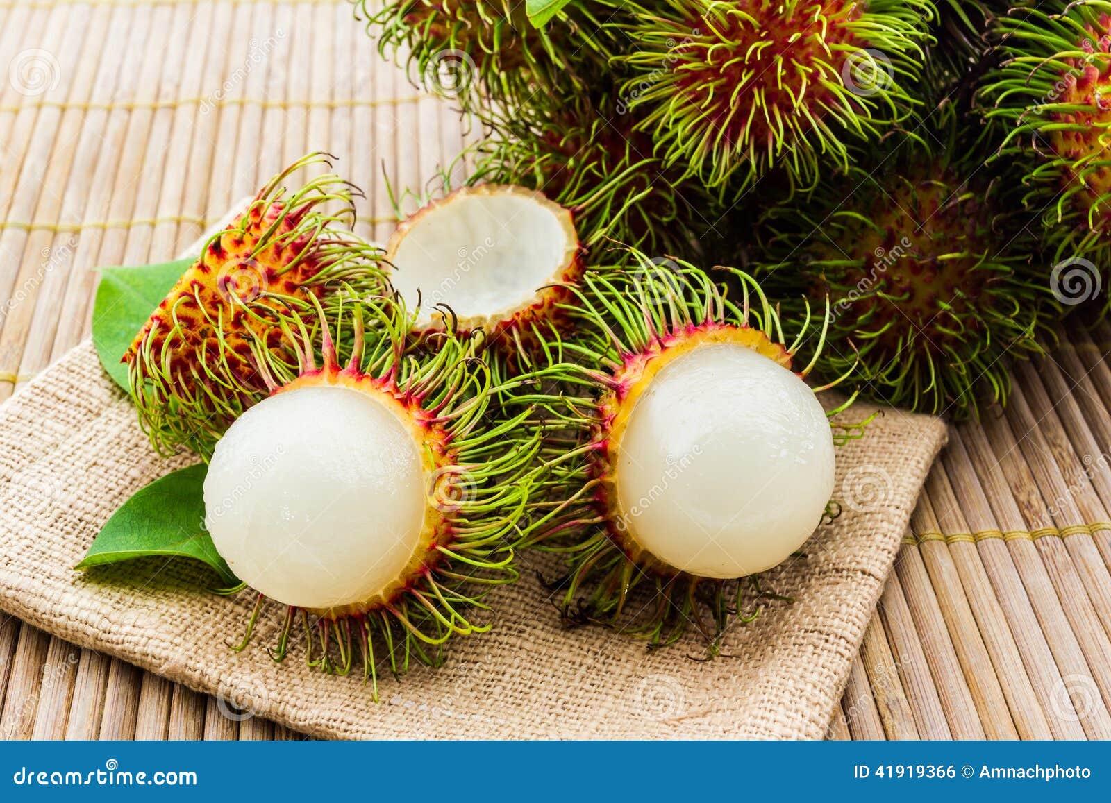 Fruta del Rambutan