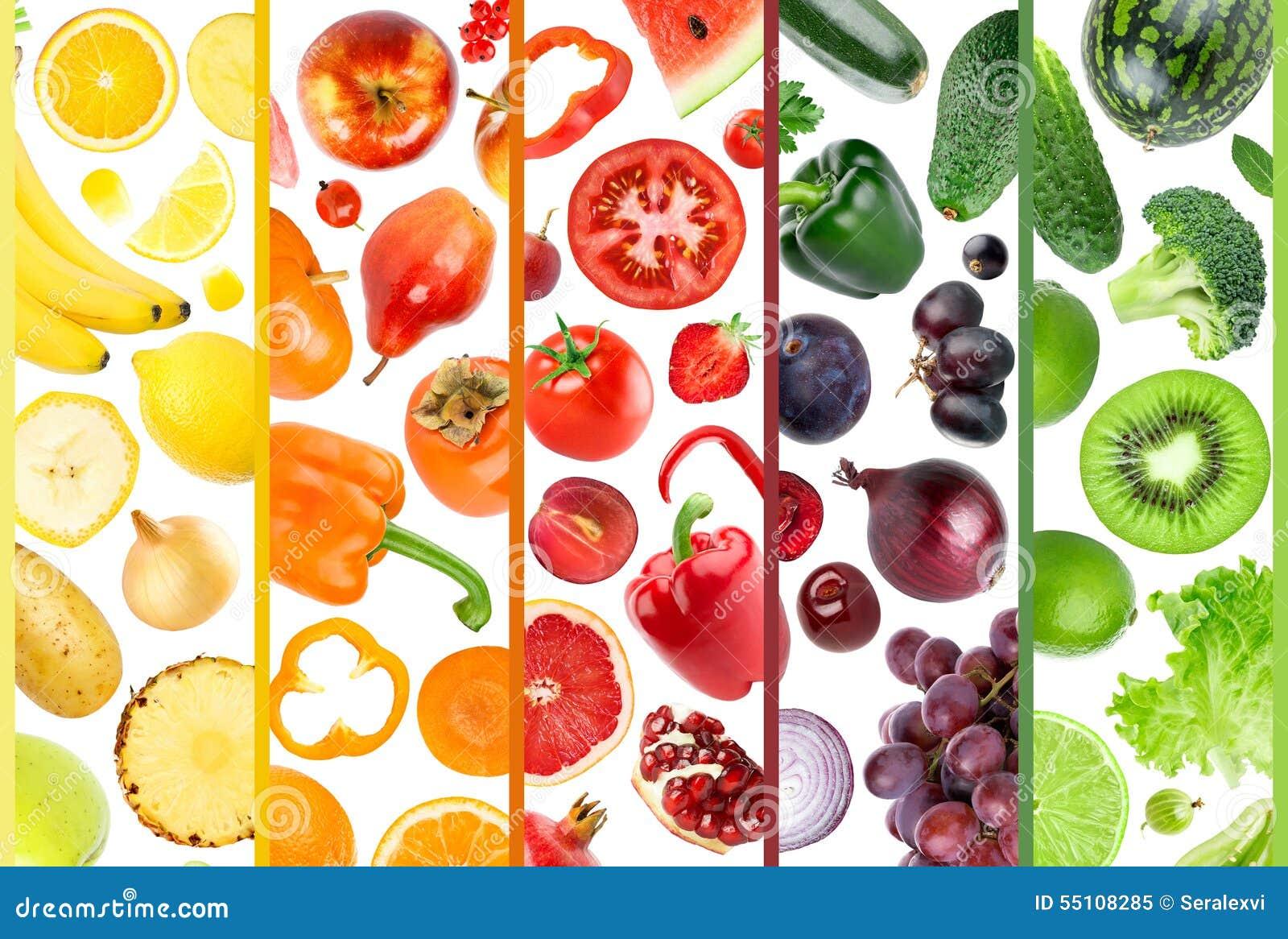 Fruta e verdura fresca