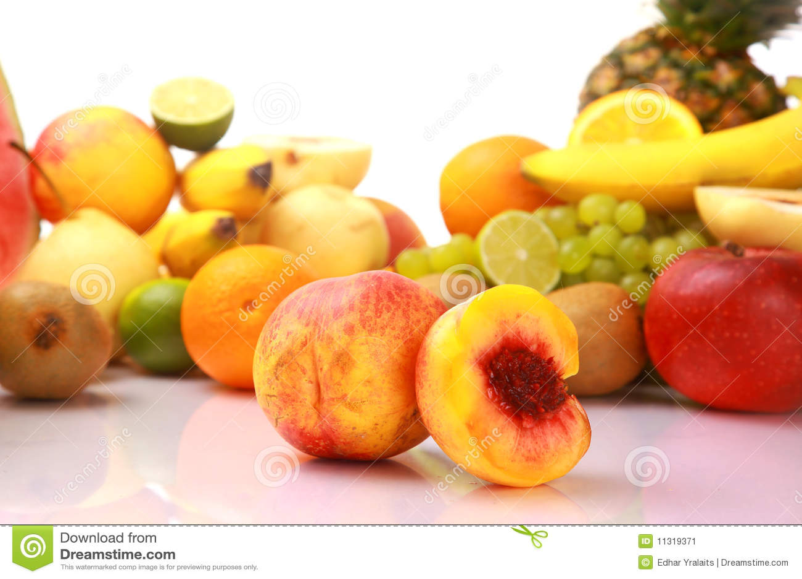 Fruta fresca madura
