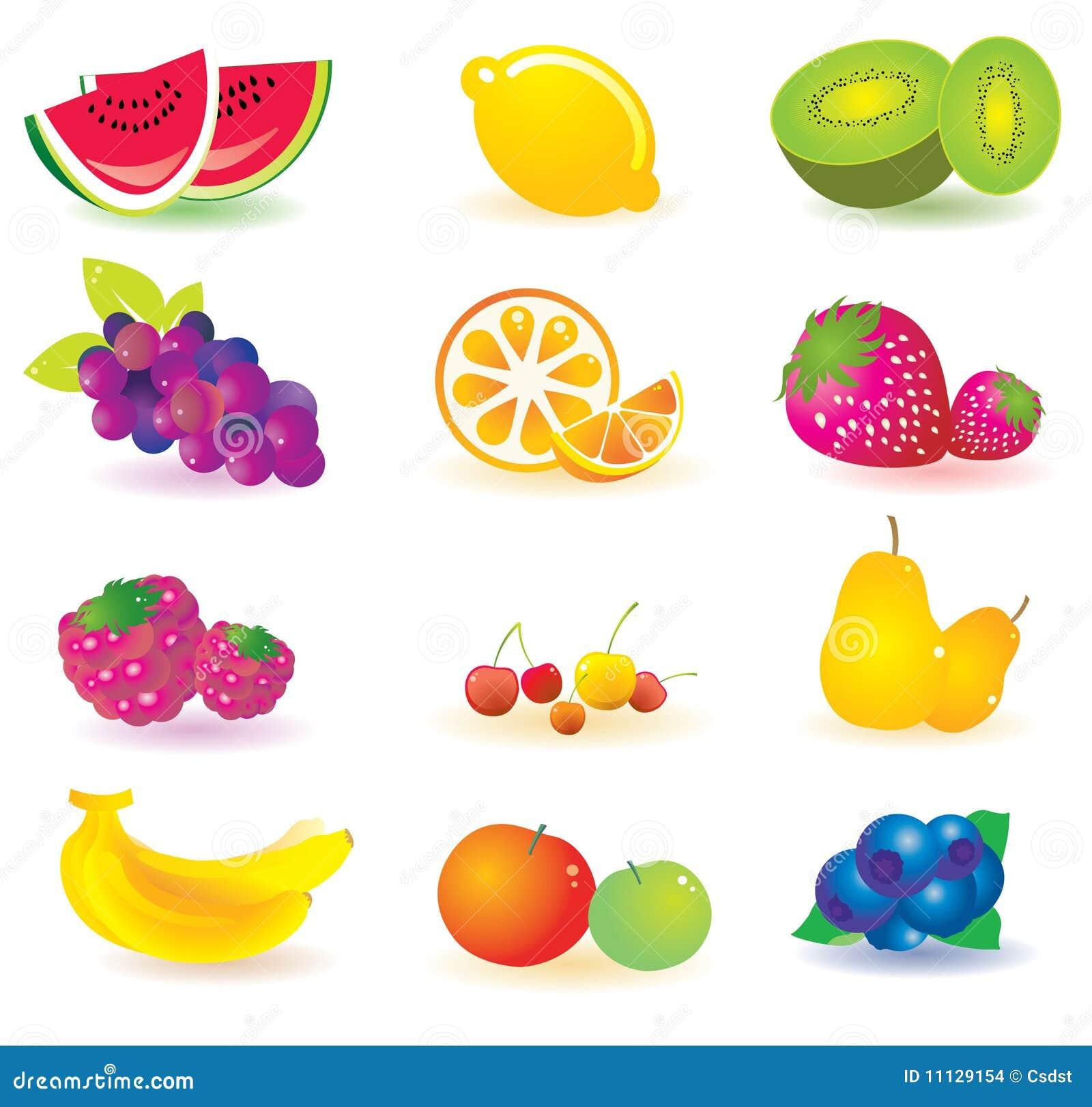 Fruta Ilustrada Ilustración Del Vector. Imagen De Citrus