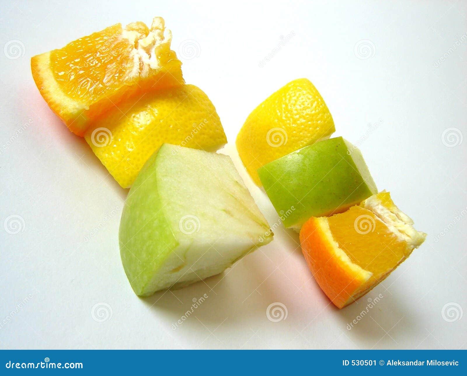 Fruta isolada