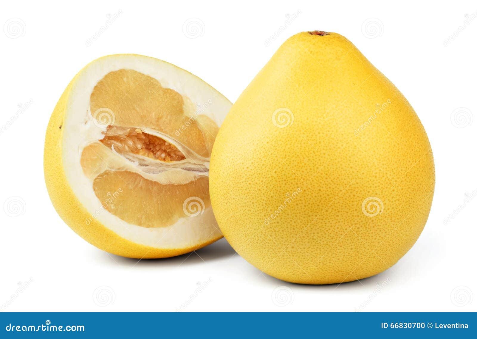 Fruta madura del pomelo