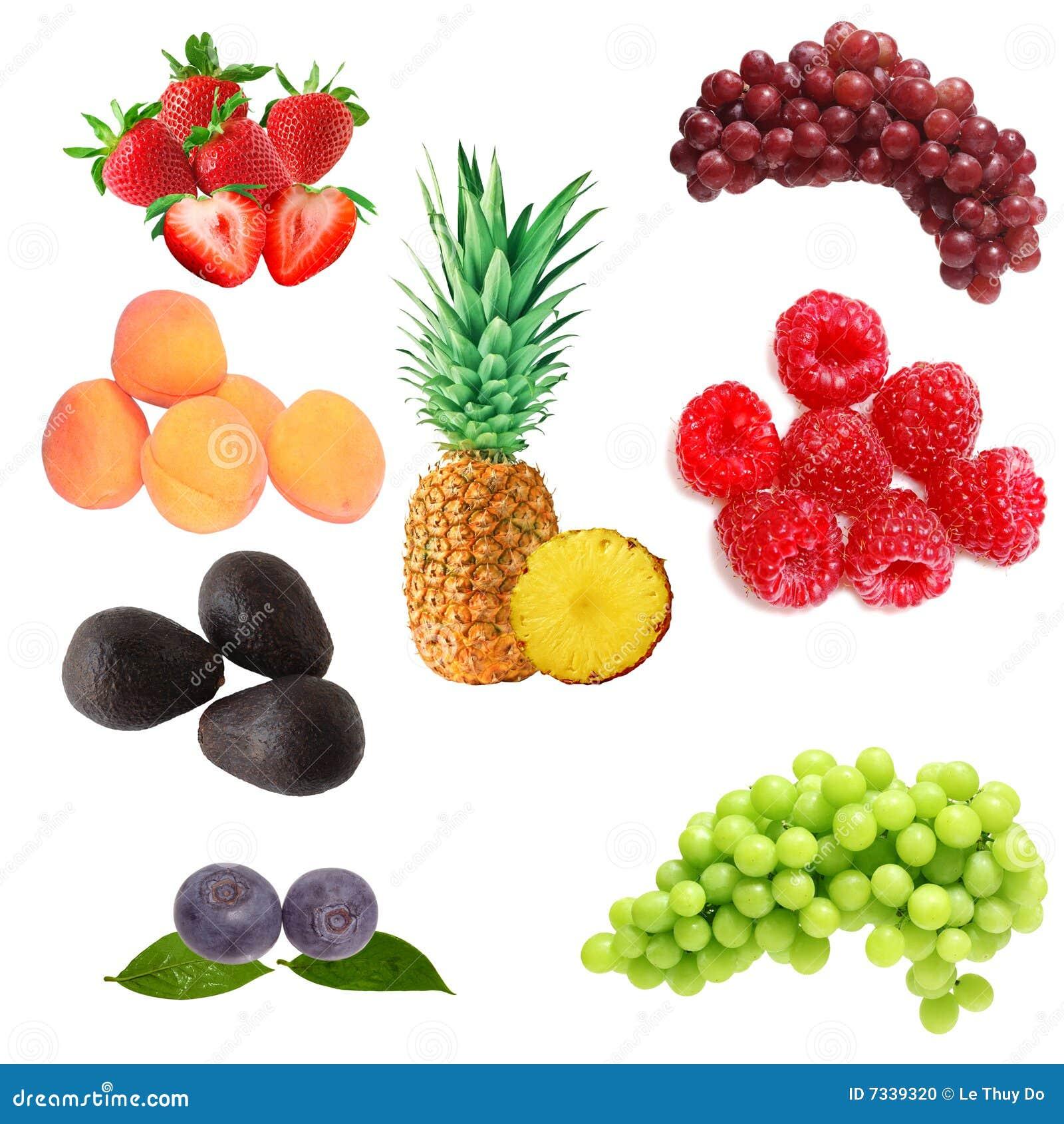 Frutas ajustadas
