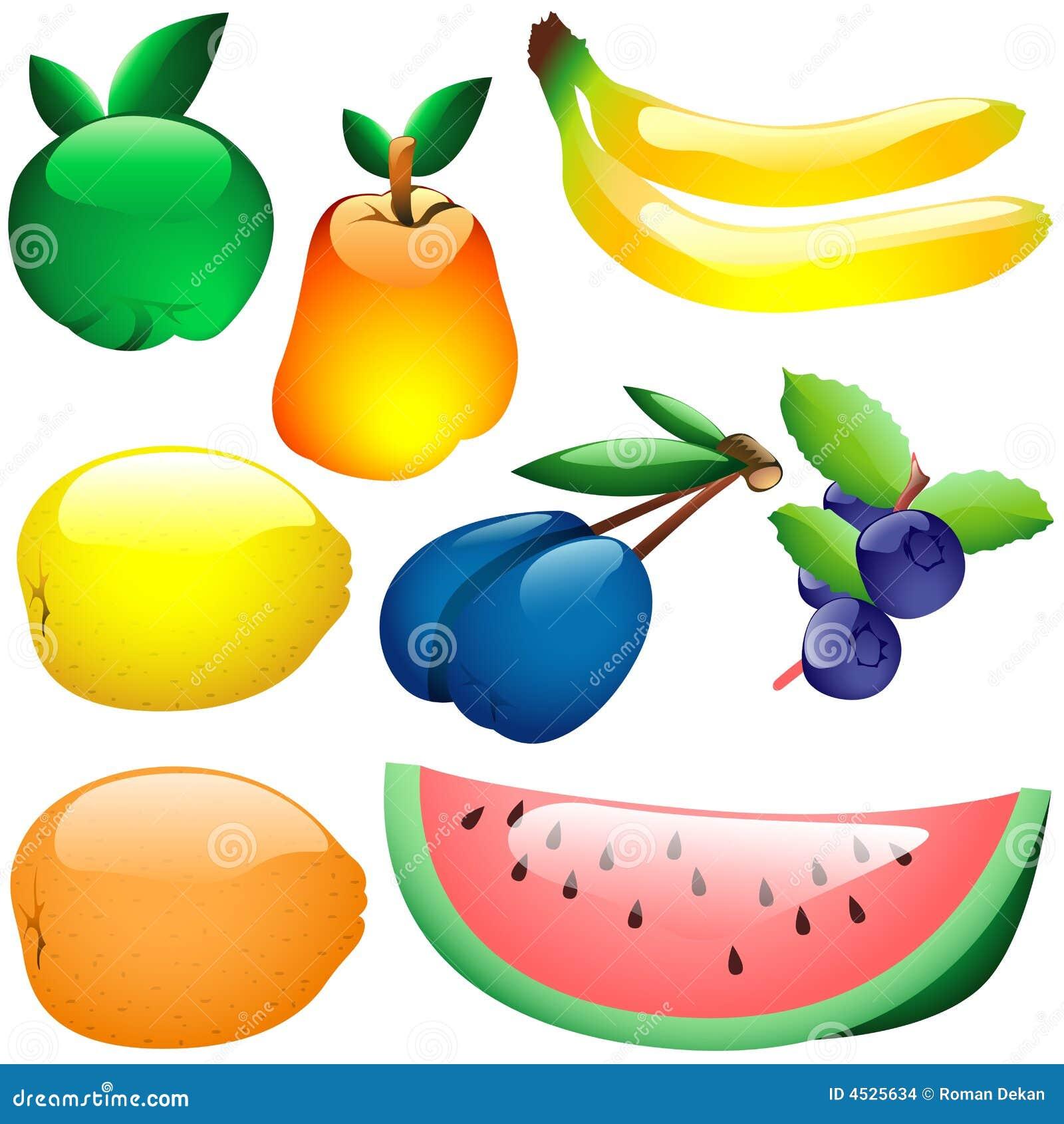 Frutas de cristal imagenes de archivo imagen 4525634 for Frutas de cristal