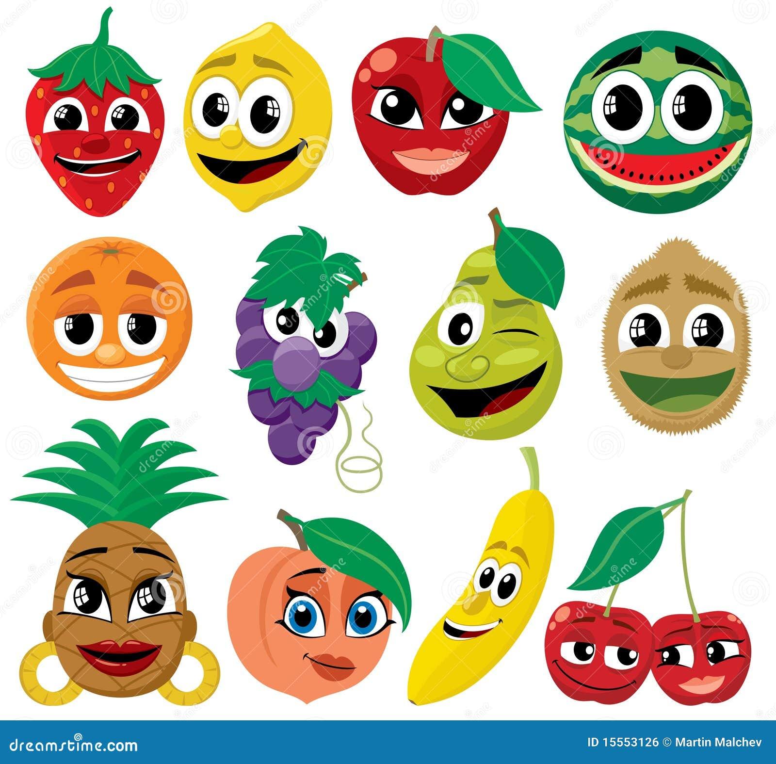 Frutas de la historieta