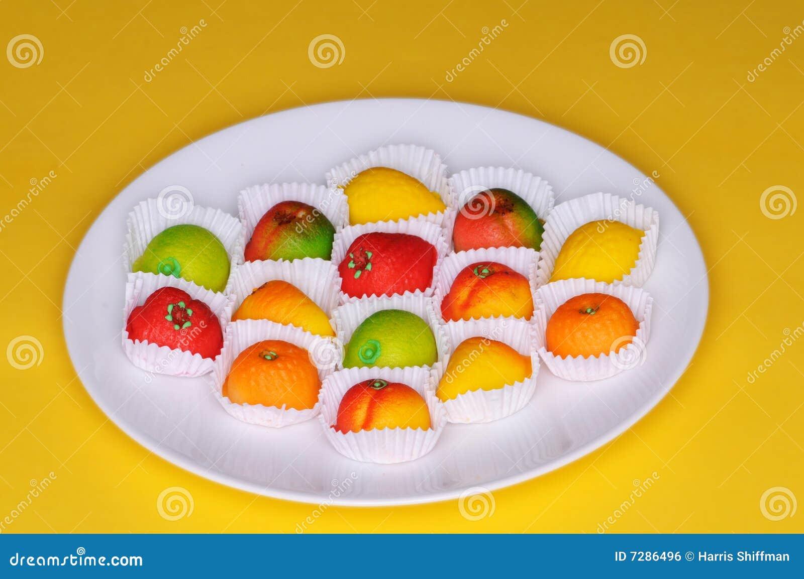 Frutas del mazapán