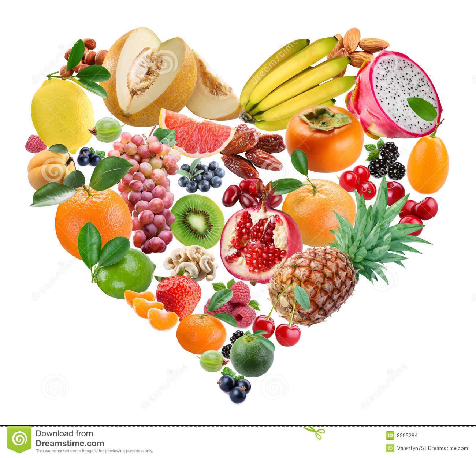 Frutas do coração