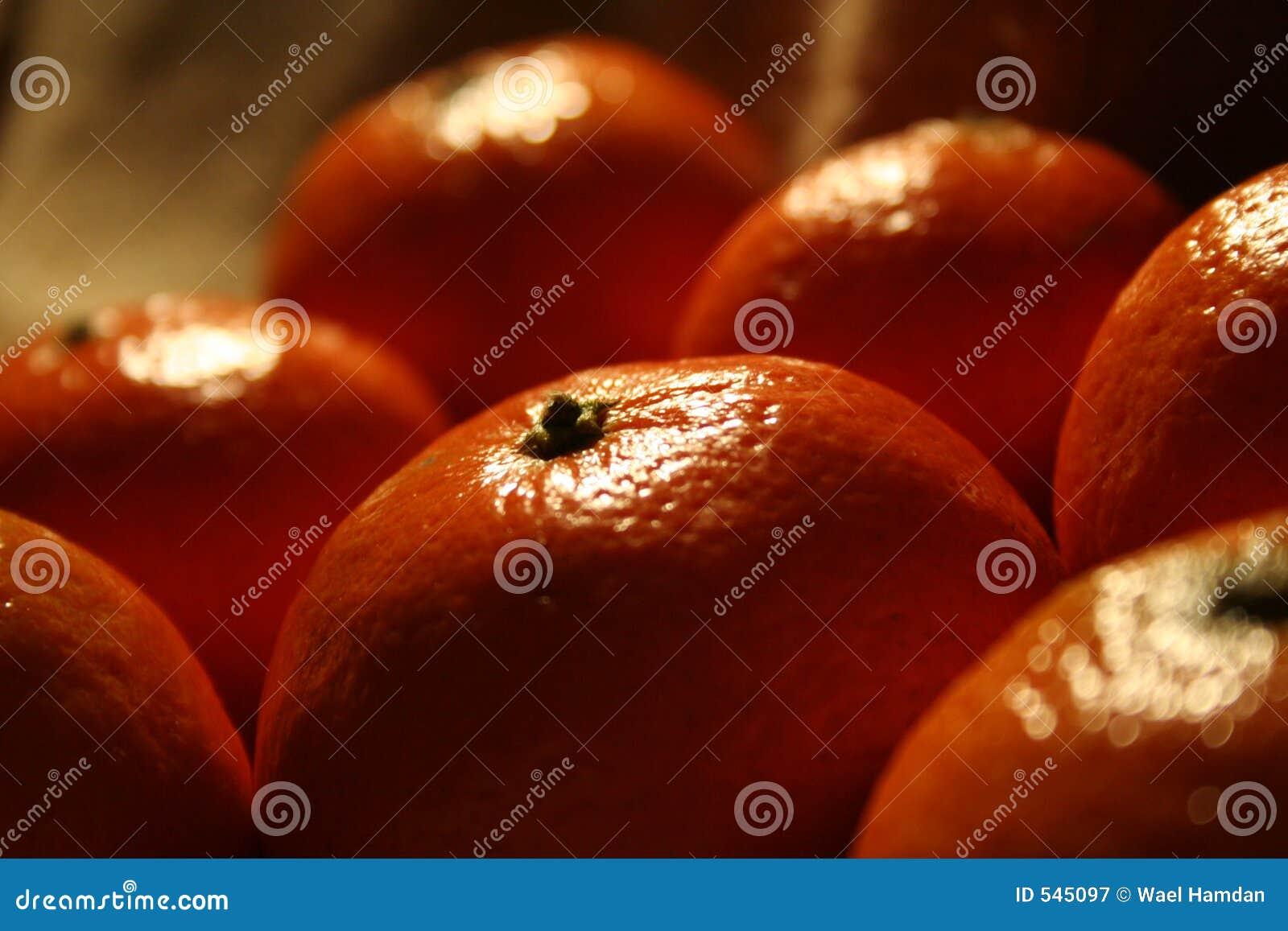 Frutas do mandarino