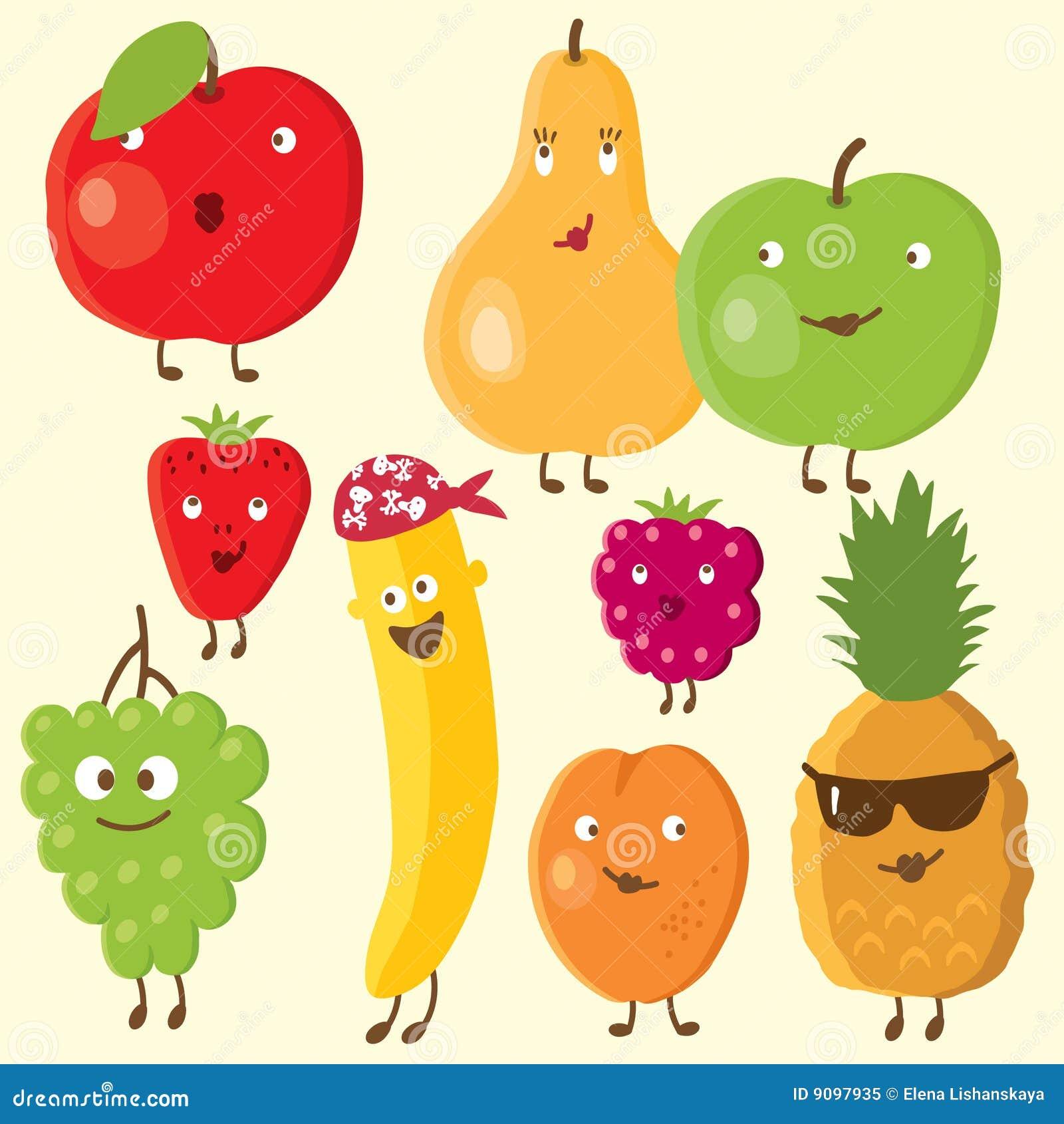 Frutas e baga alegres