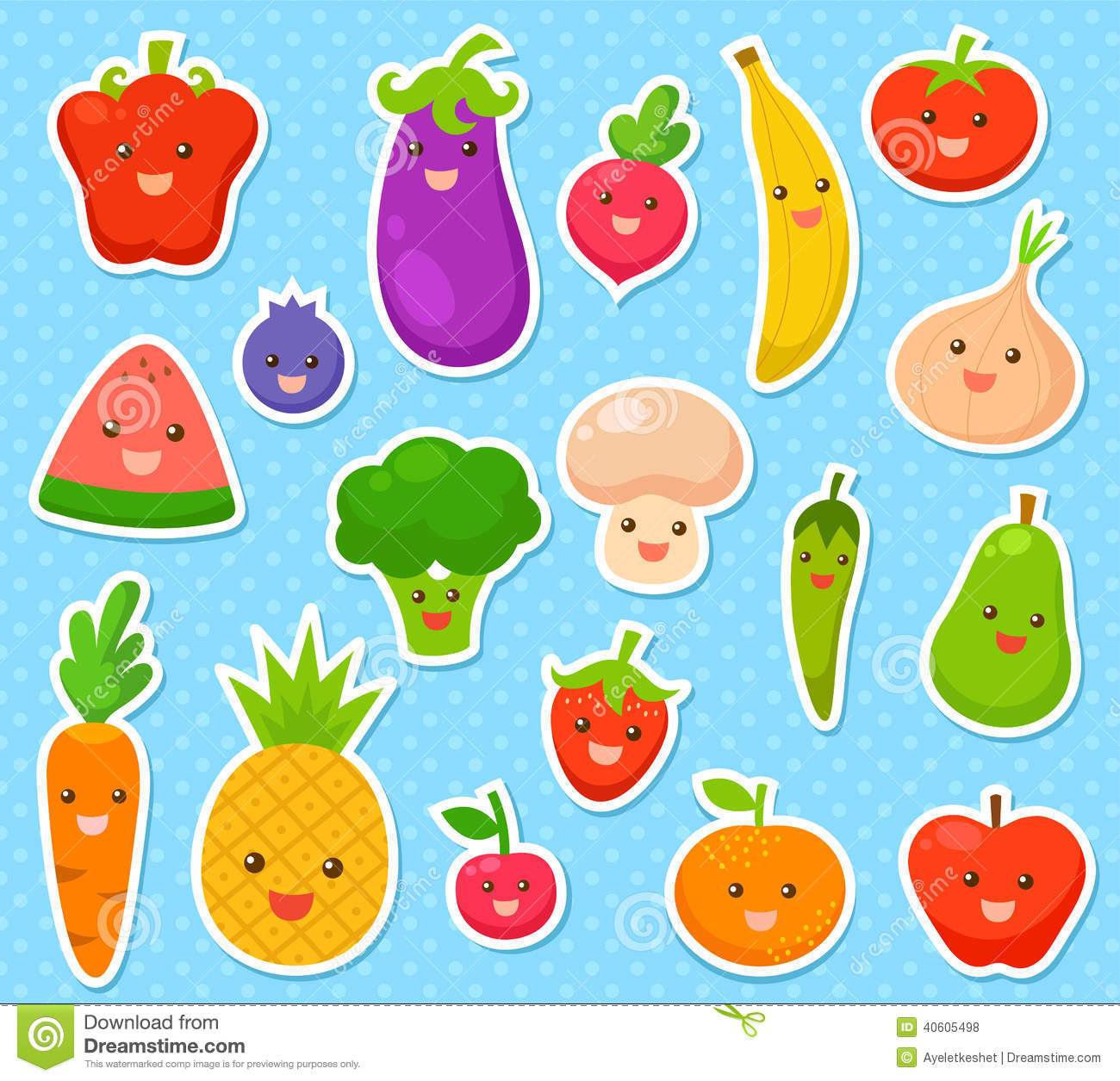 Wall Stickers How To Apply Frutas E Verdura Ilustra 231 227 O Do Vetor Ilustra 231 227 O De