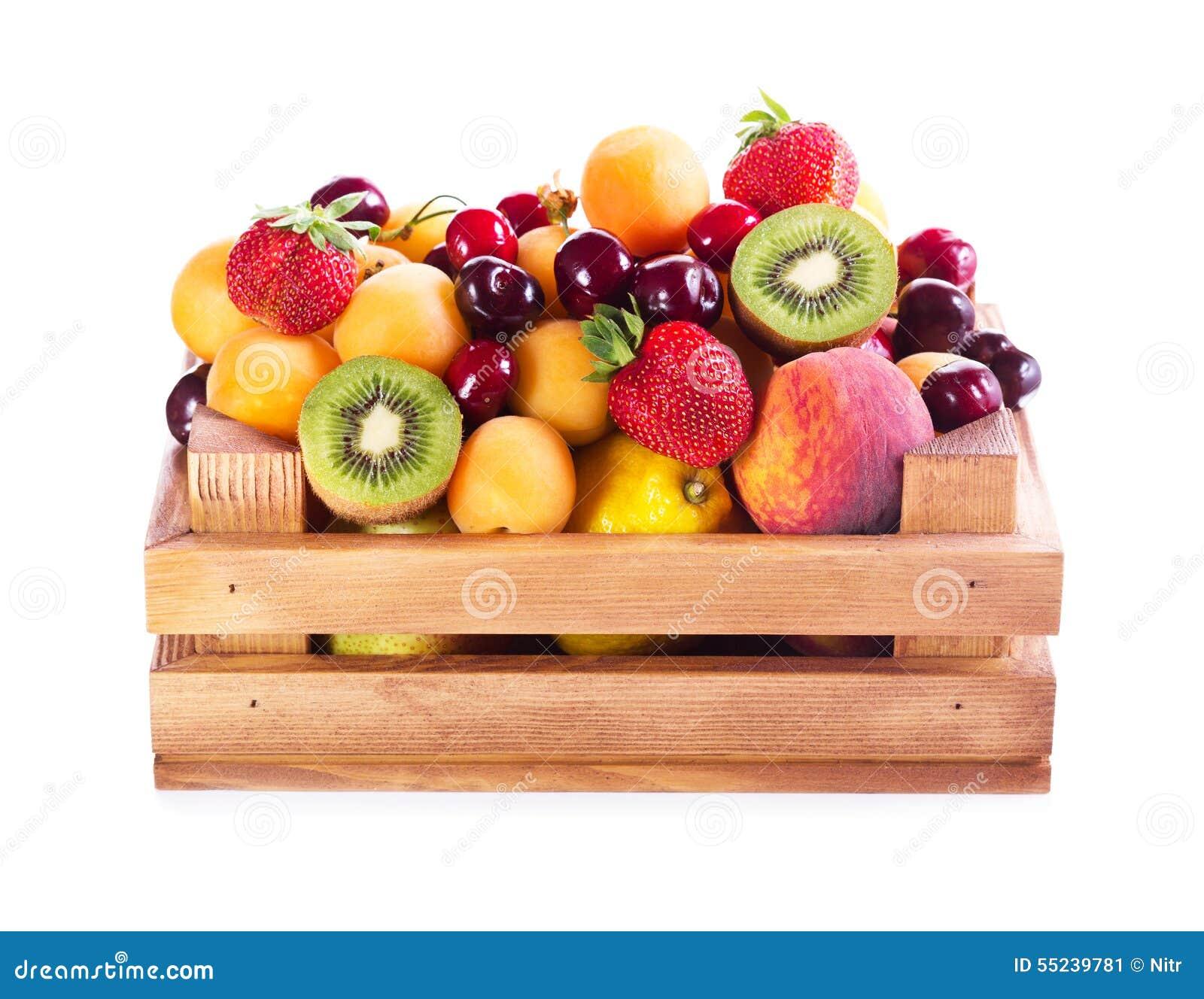 Caja de frutas de madera usado piezas slido flameadas - Cajas de fruta ...