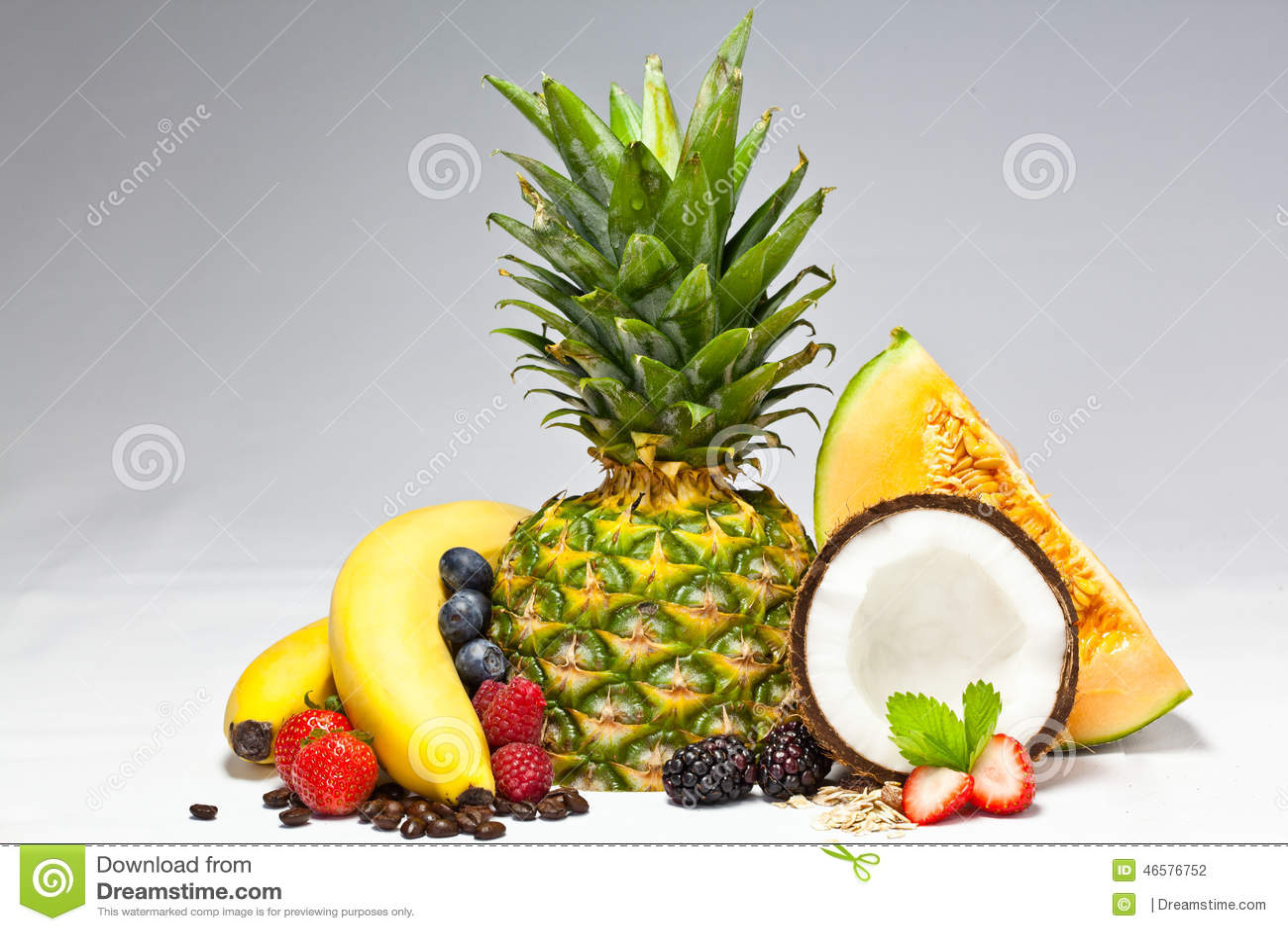 Frutas junto
