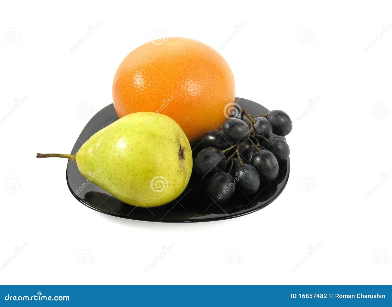 Frutas no prato