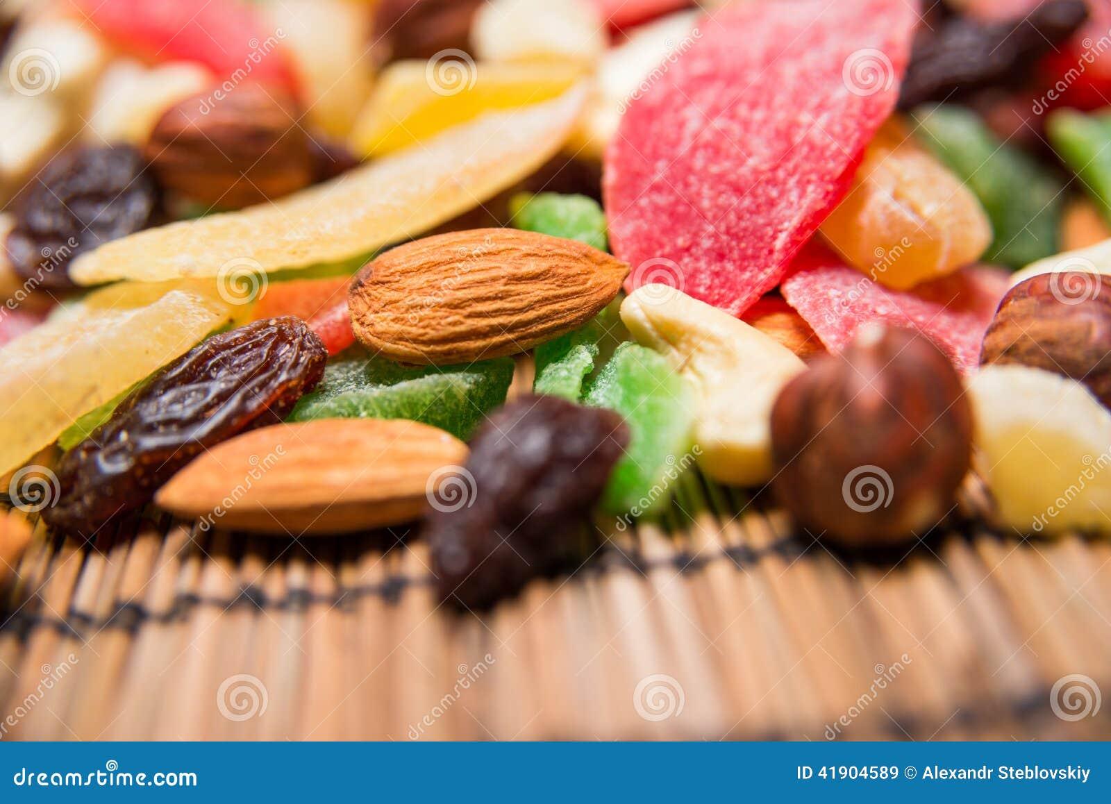 Frutas Nuts y secadas