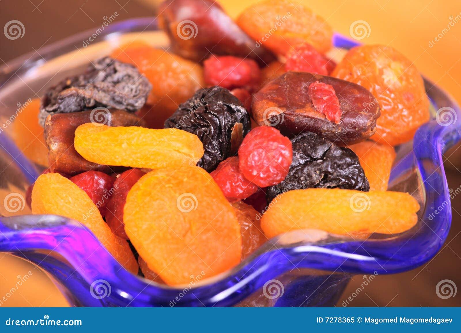 Frutas secadas