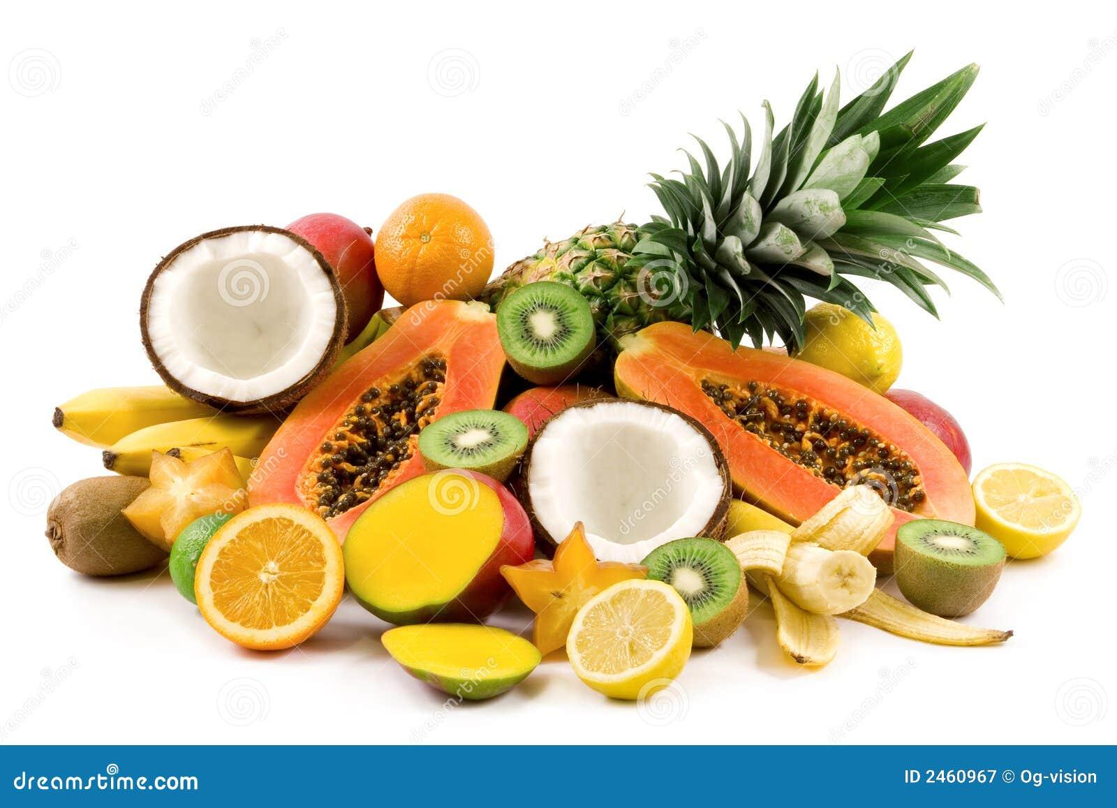 Frutas tropicales for Clipart frutta