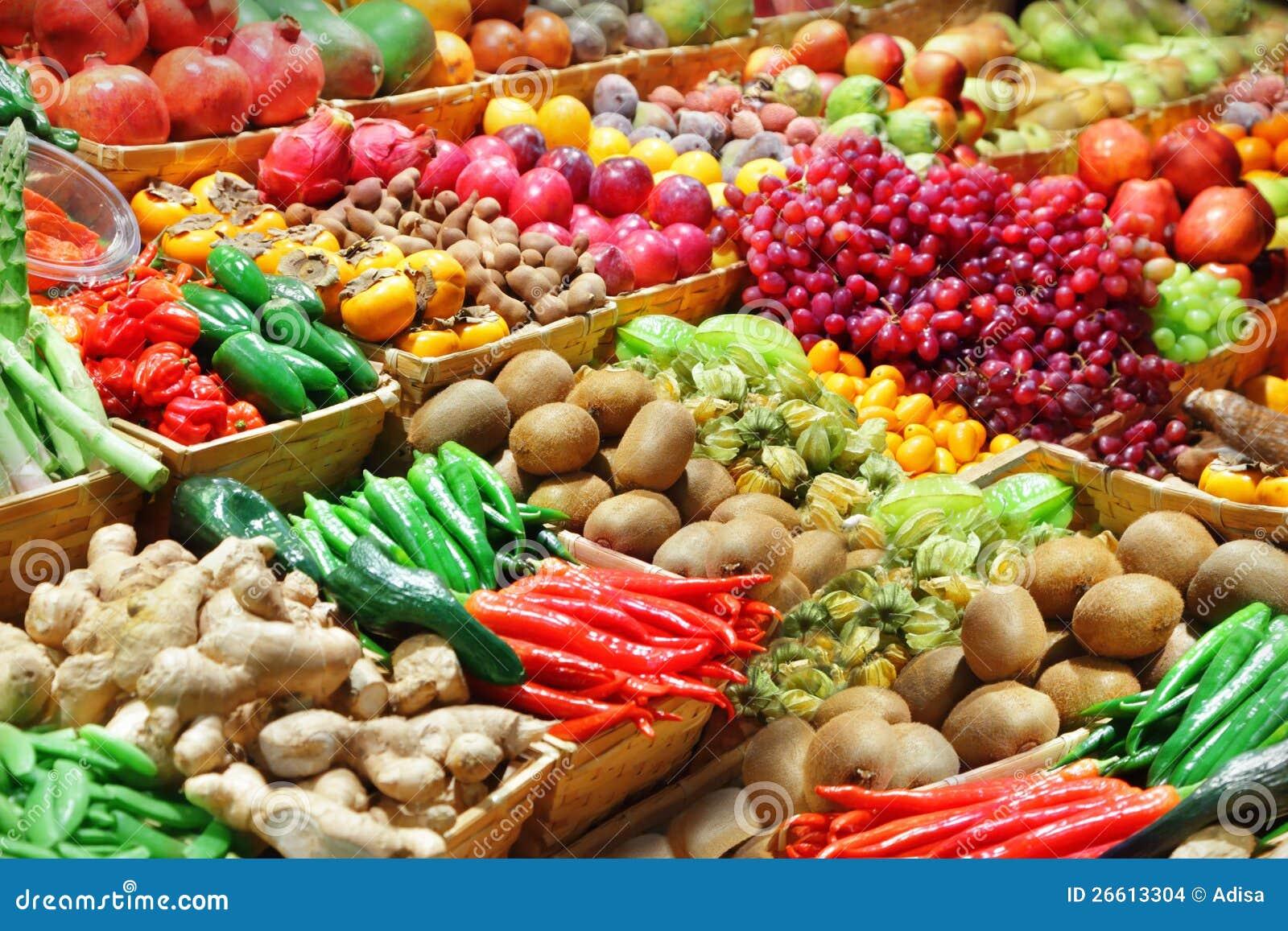 Frutas y verdura