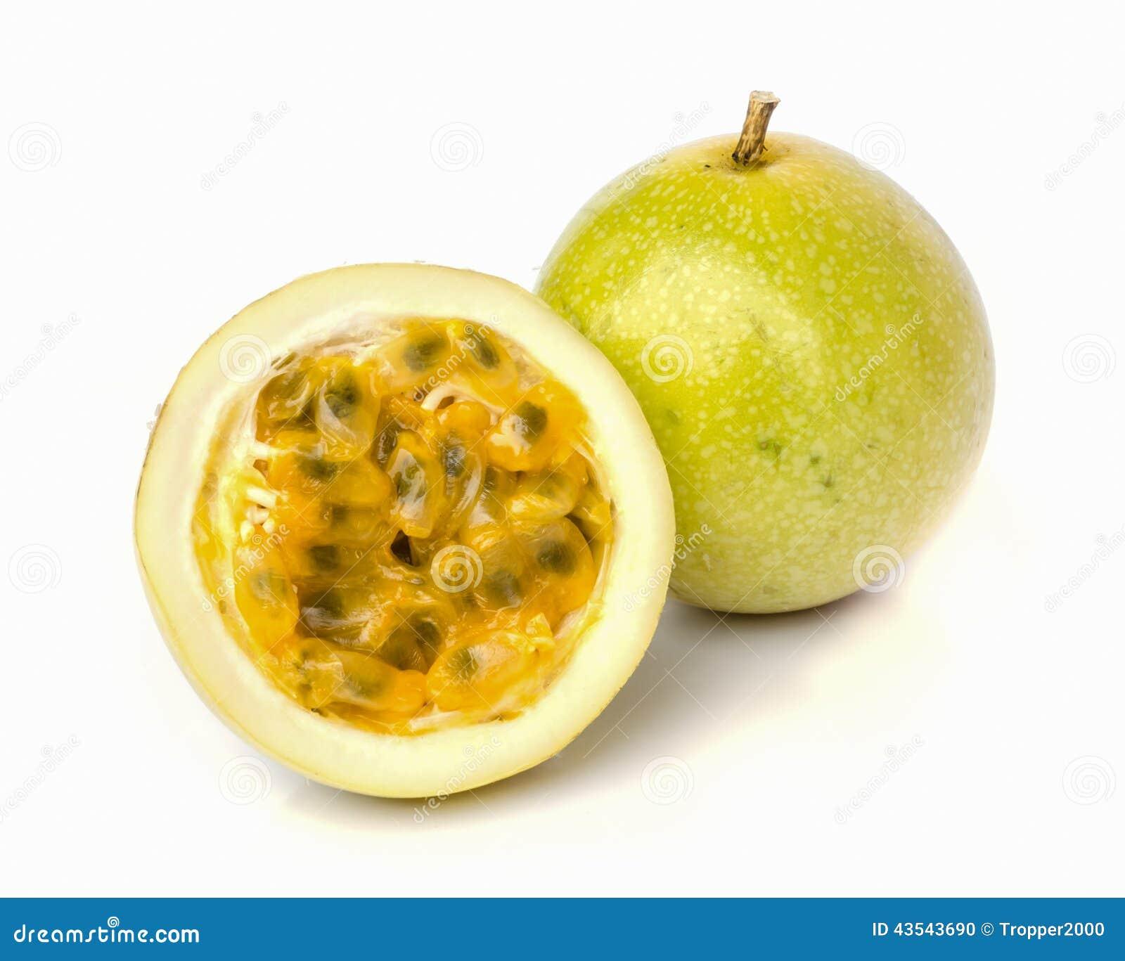 Fruto de paixão maduro