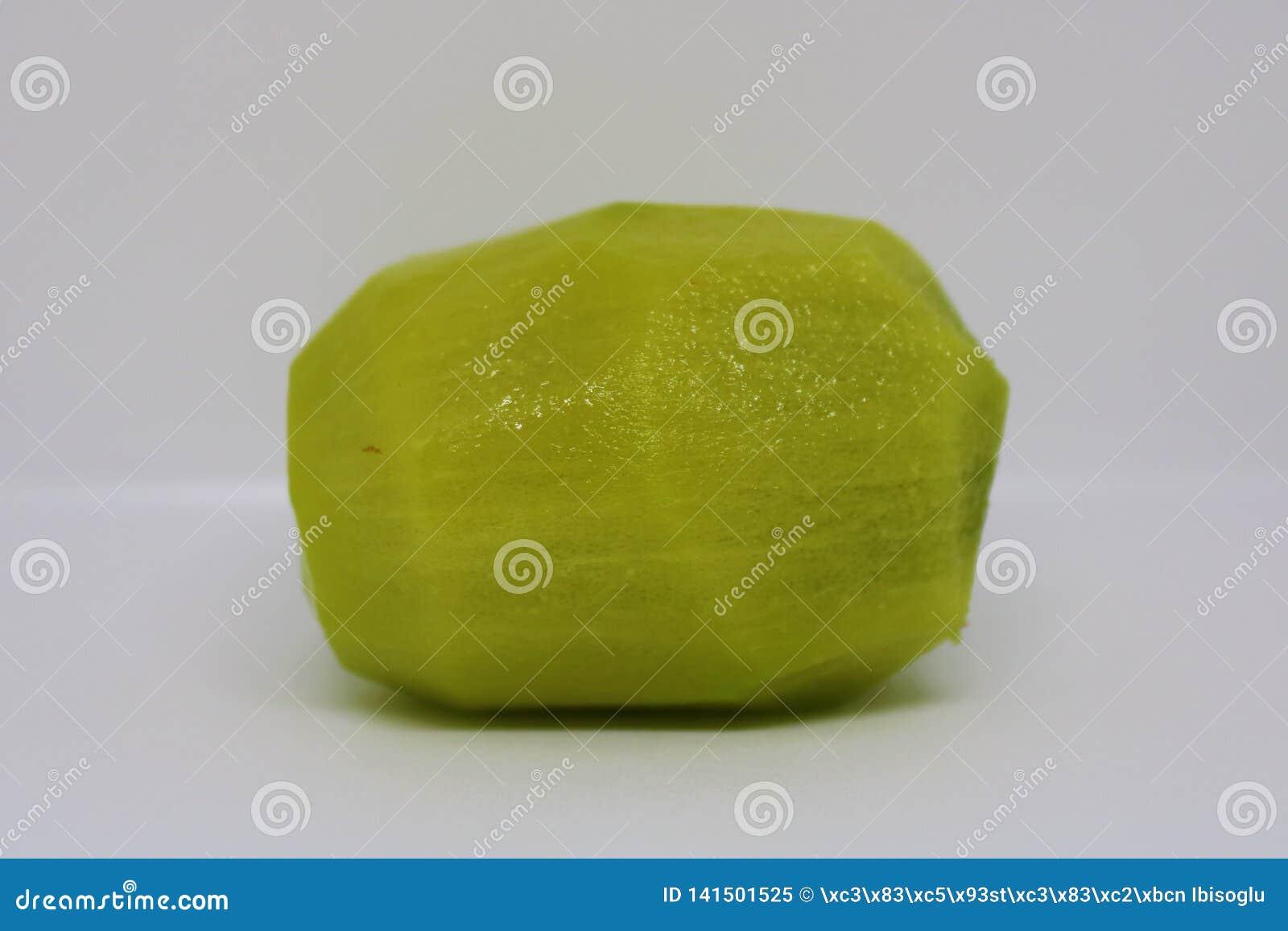 Fruto de quivi sem casca
