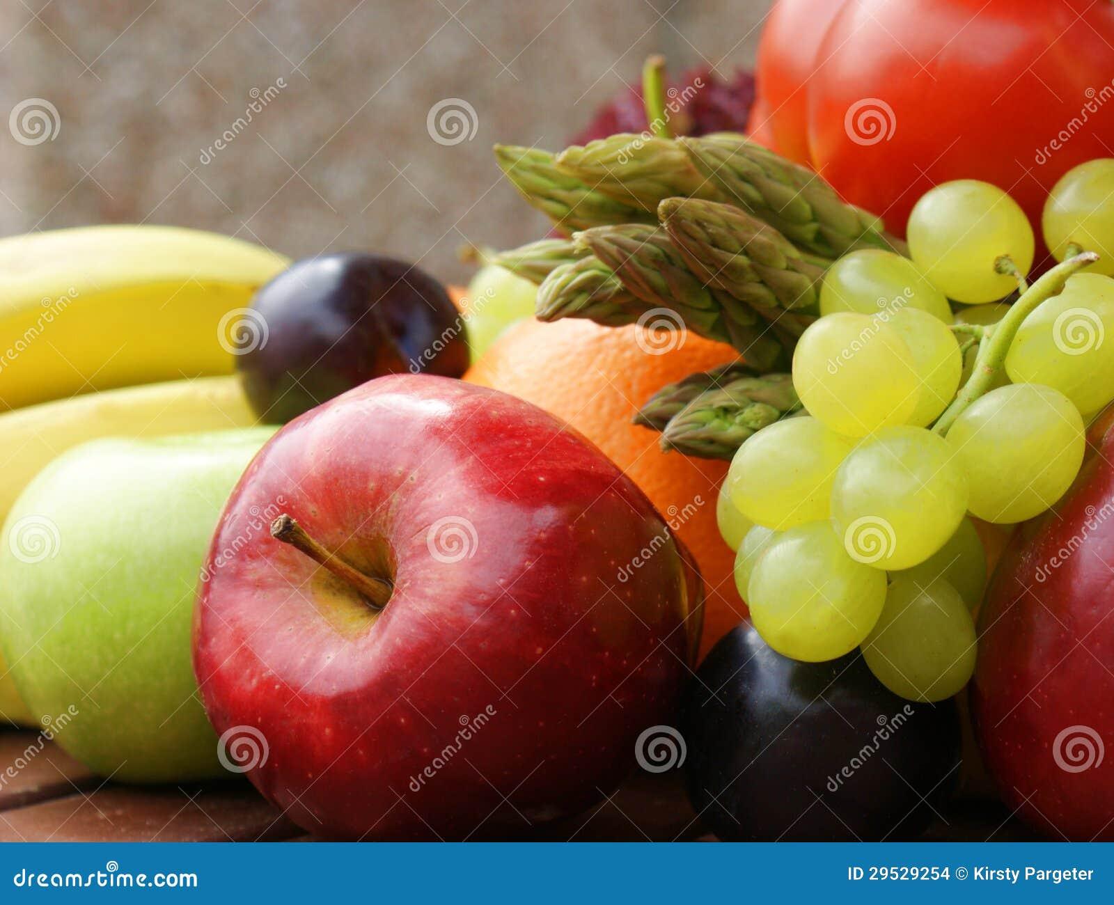 Fruto e vegetais