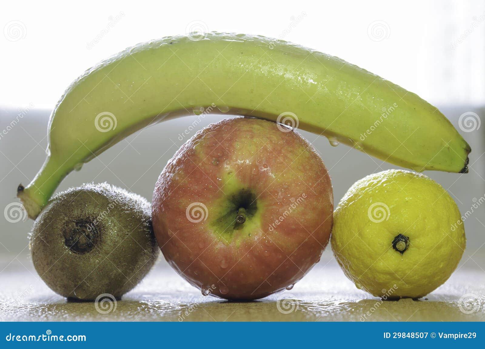 Forma diferente do fruto
