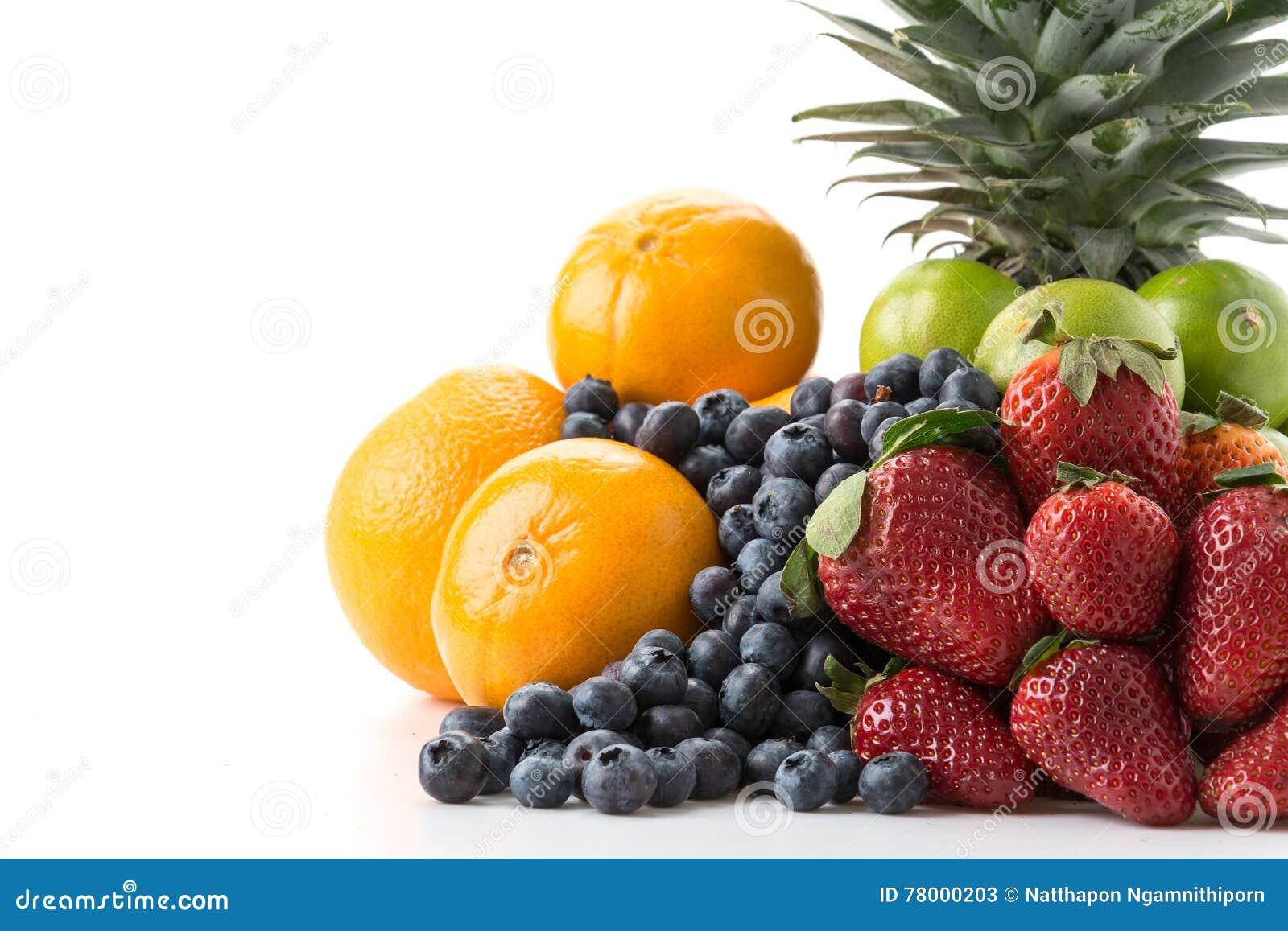Frutos da mistura