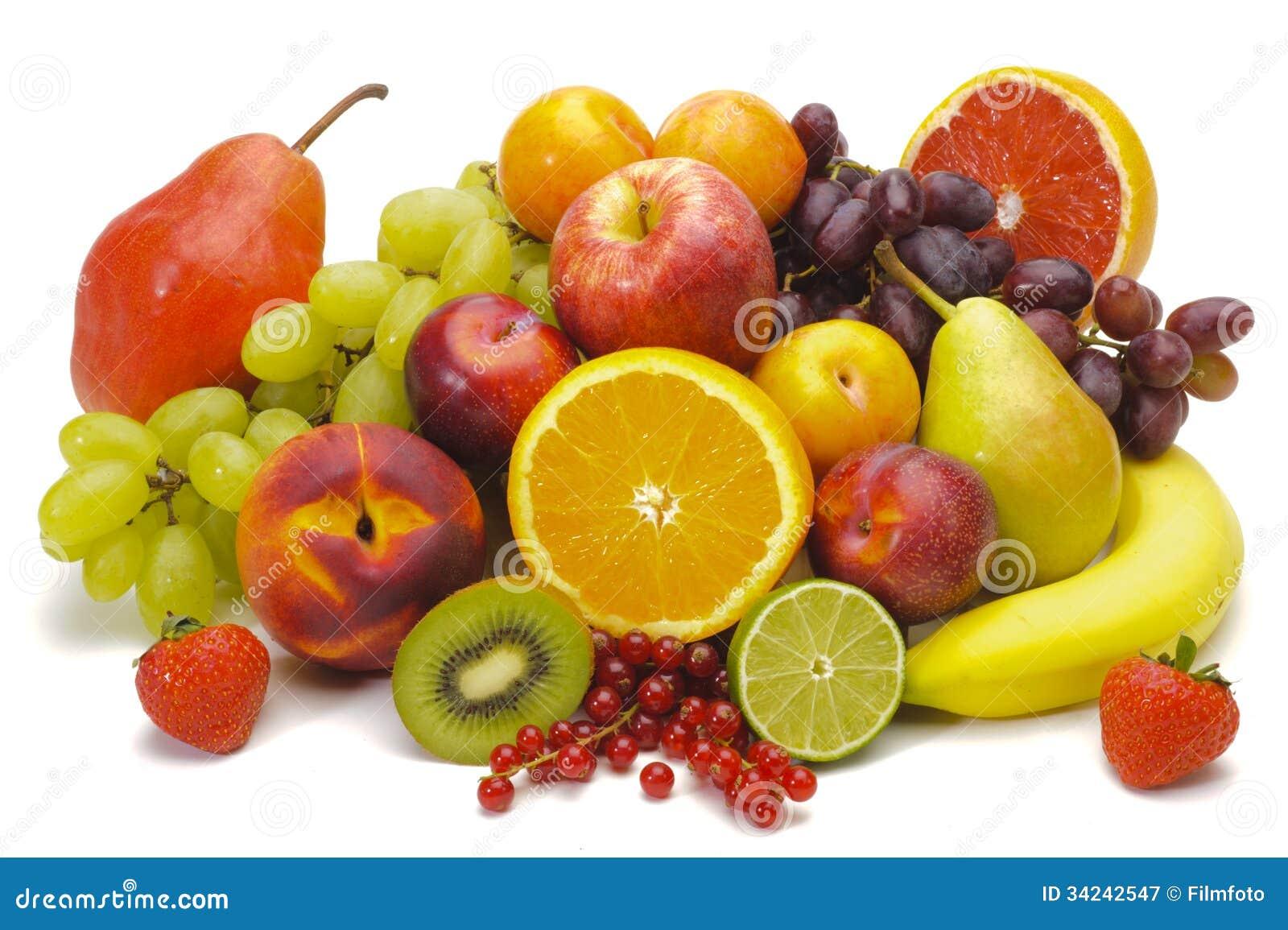 Frutos misturados