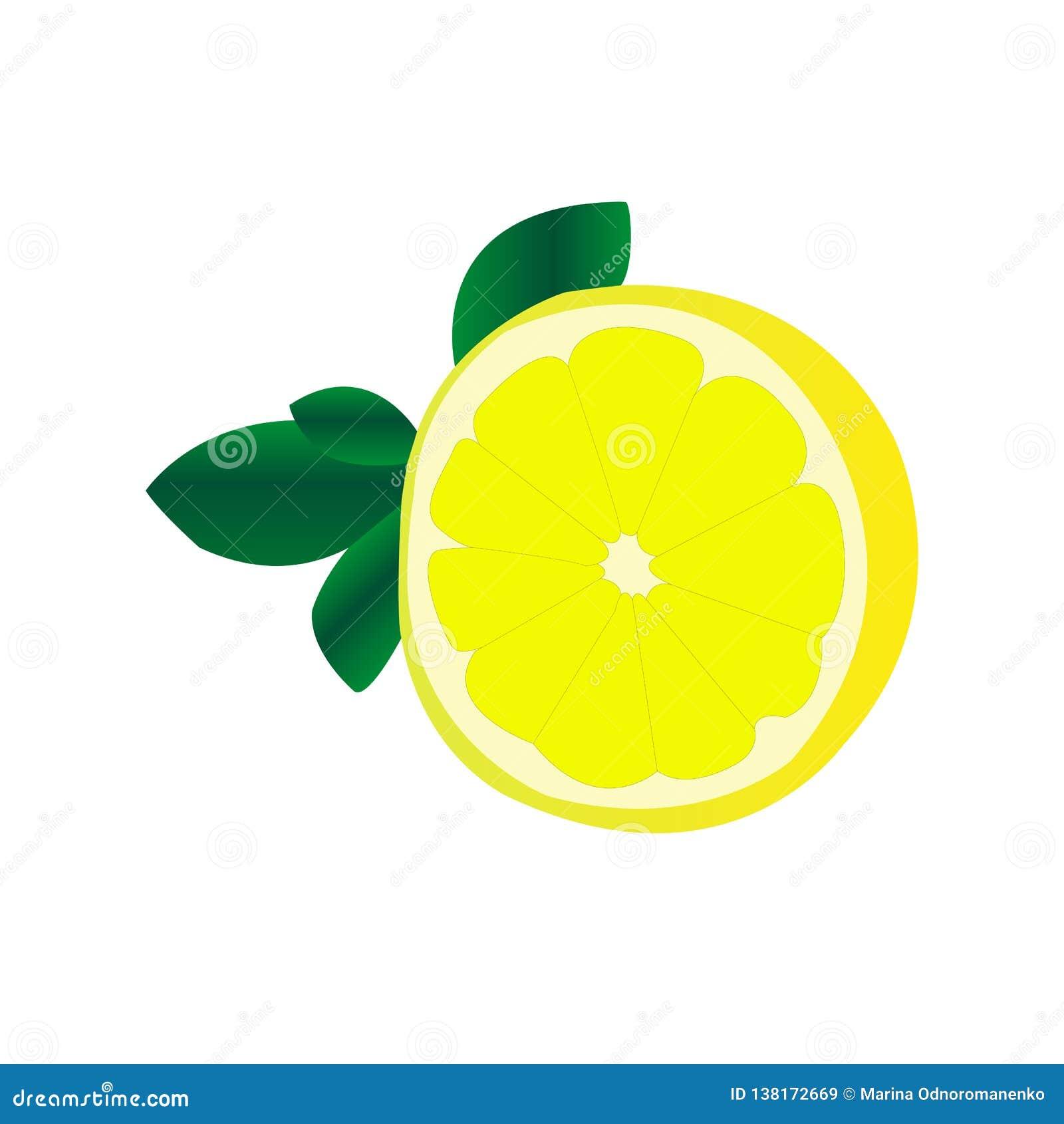 Frutta acida del limone per i succhi ed il tè